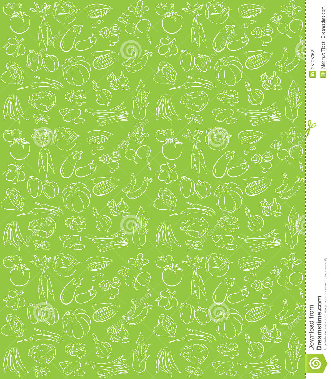 Vegetable pattern - photo#16