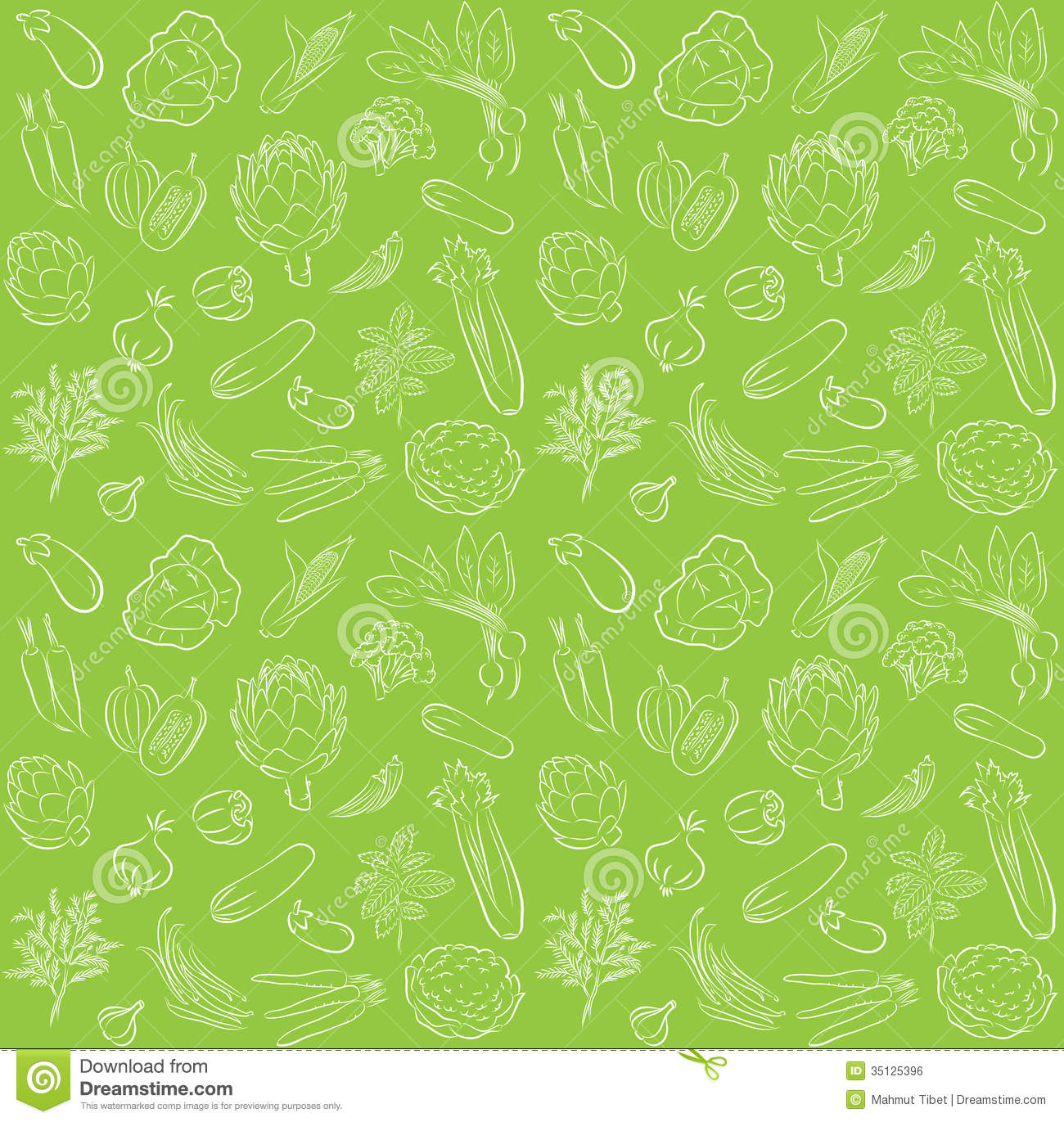 Vegetable pattern - photo#22