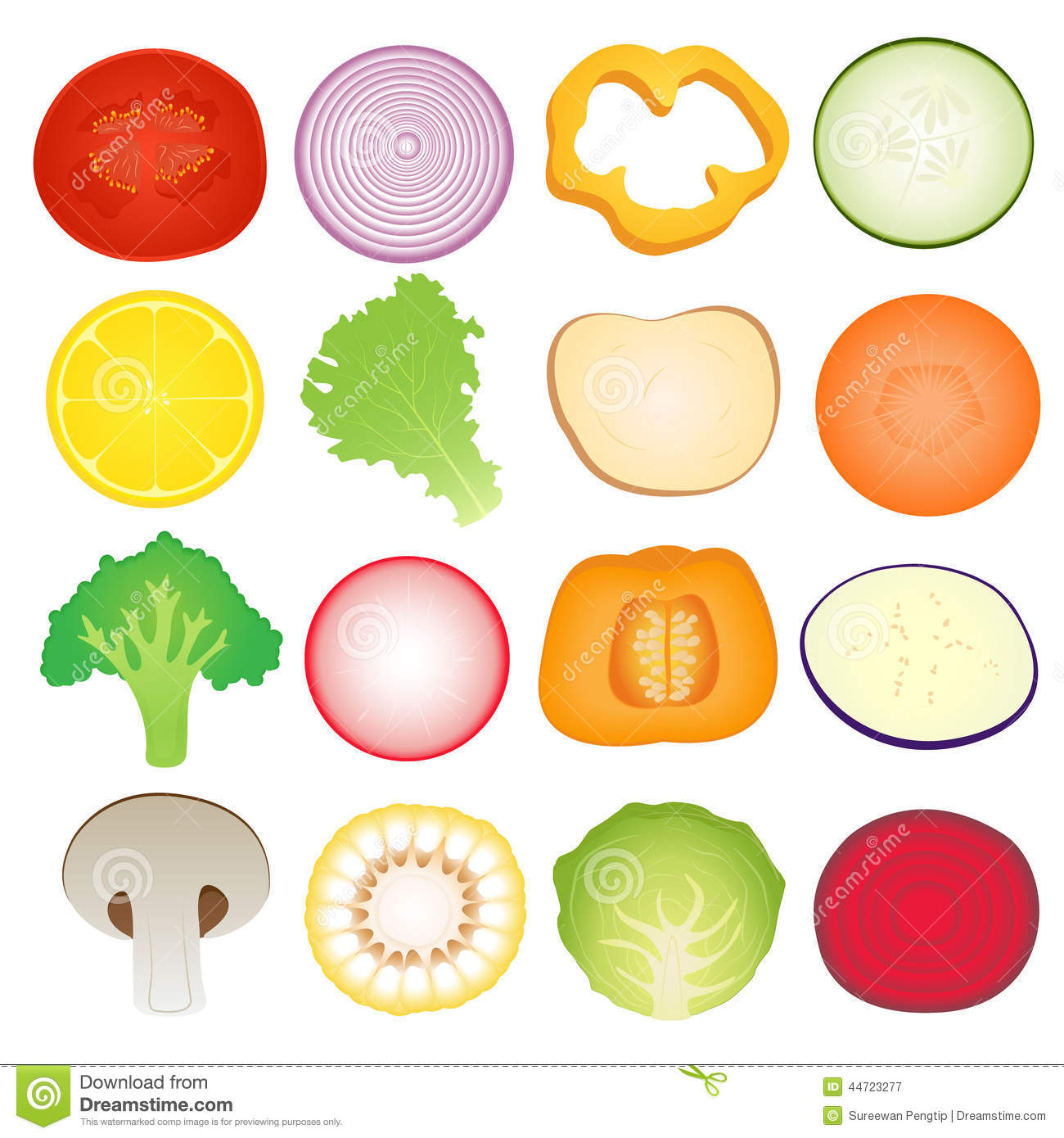 vegetables slice set stock vector image of nutrition free clip art cooking contest free clipart cooking class