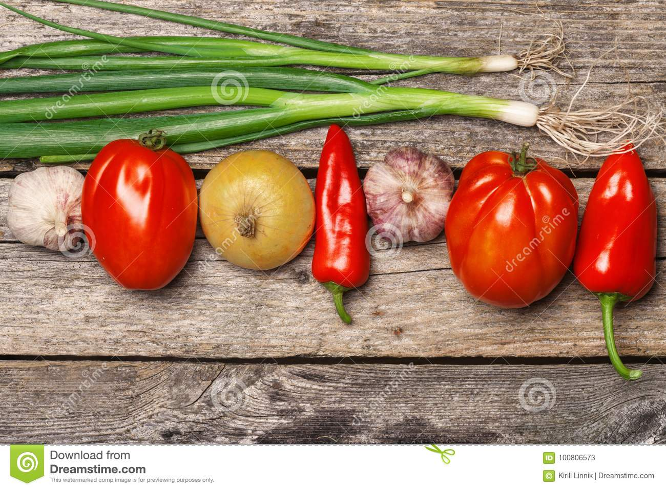 Download Vegetables on the table stock image. Image of plant - 100806573