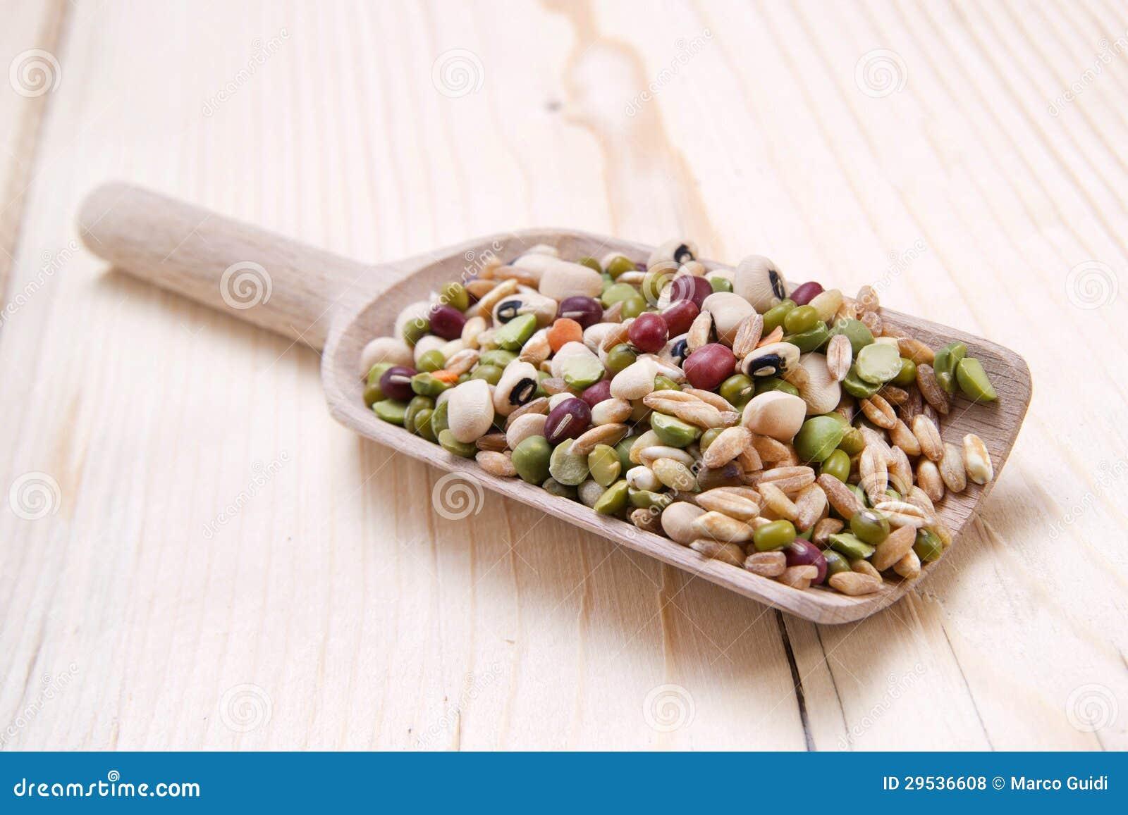 Vegetais misturados