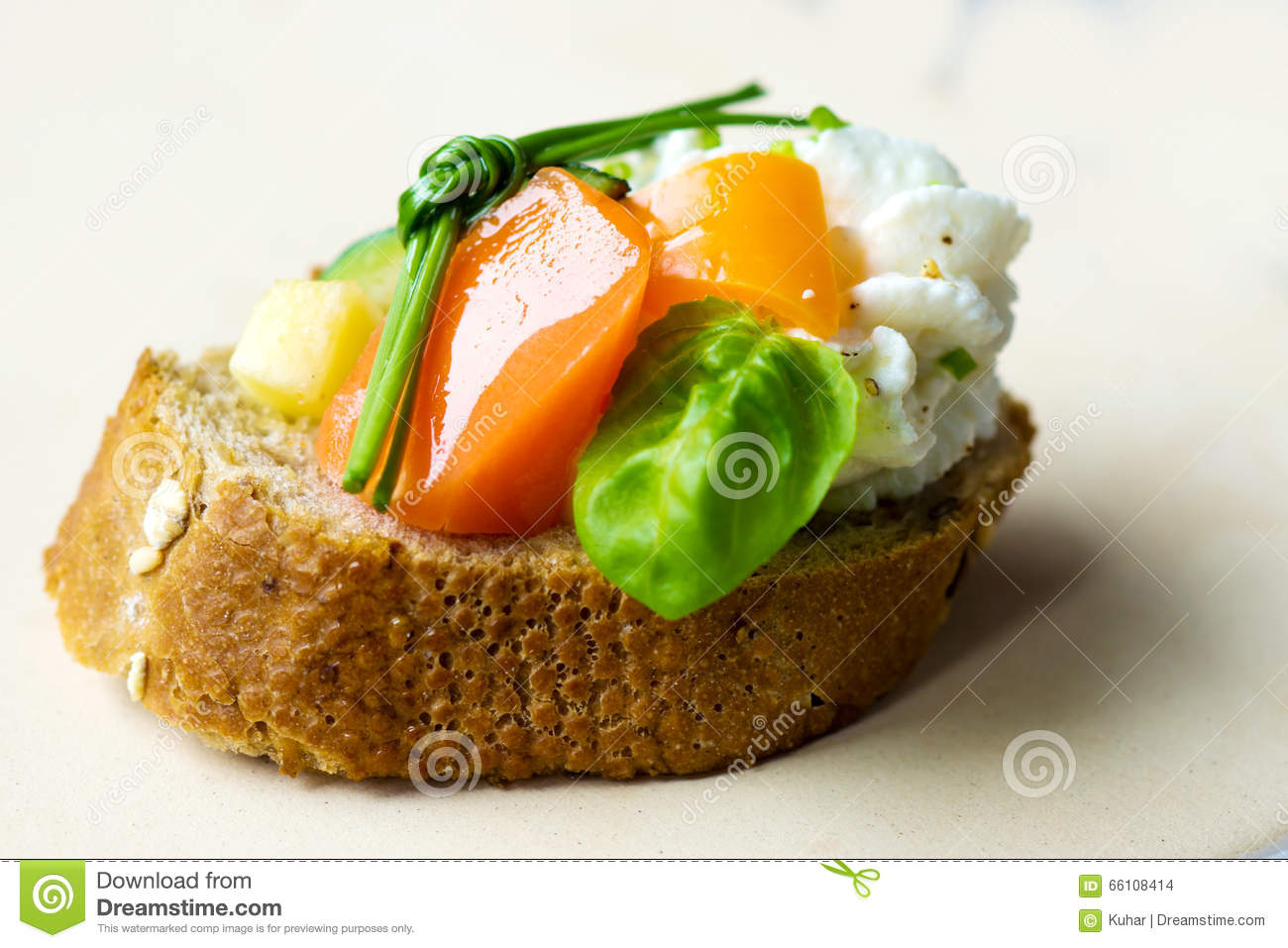 Vegetarian canape stock photo image 66108414 for Vegetarian canape