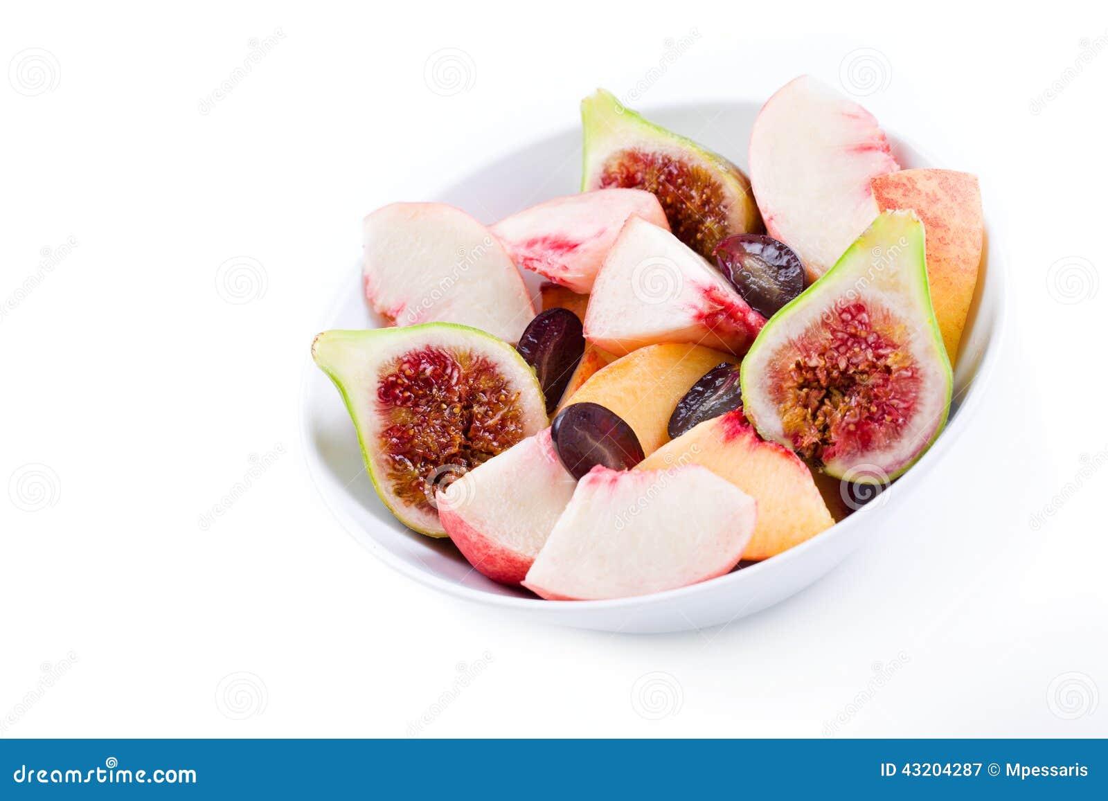 Download Vegetarian För Sallad För Porslin För Apelsiner För Matfruktdruvor Fotografering för Bildbyråer - Bild av moget, sallad: 43204287