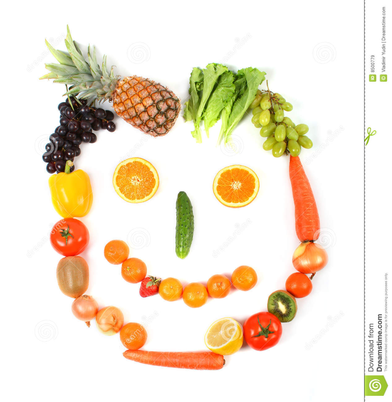 Vegetarian Face Royalty Free Stock Images Image 8500779