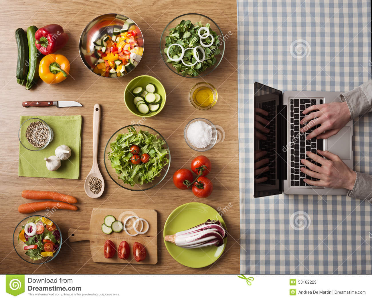 Vegetarian healthy food online recipes stock image image of eating vegetarian healthy food online recipes stock image image of eating blogger 53162223 forumfinder Images