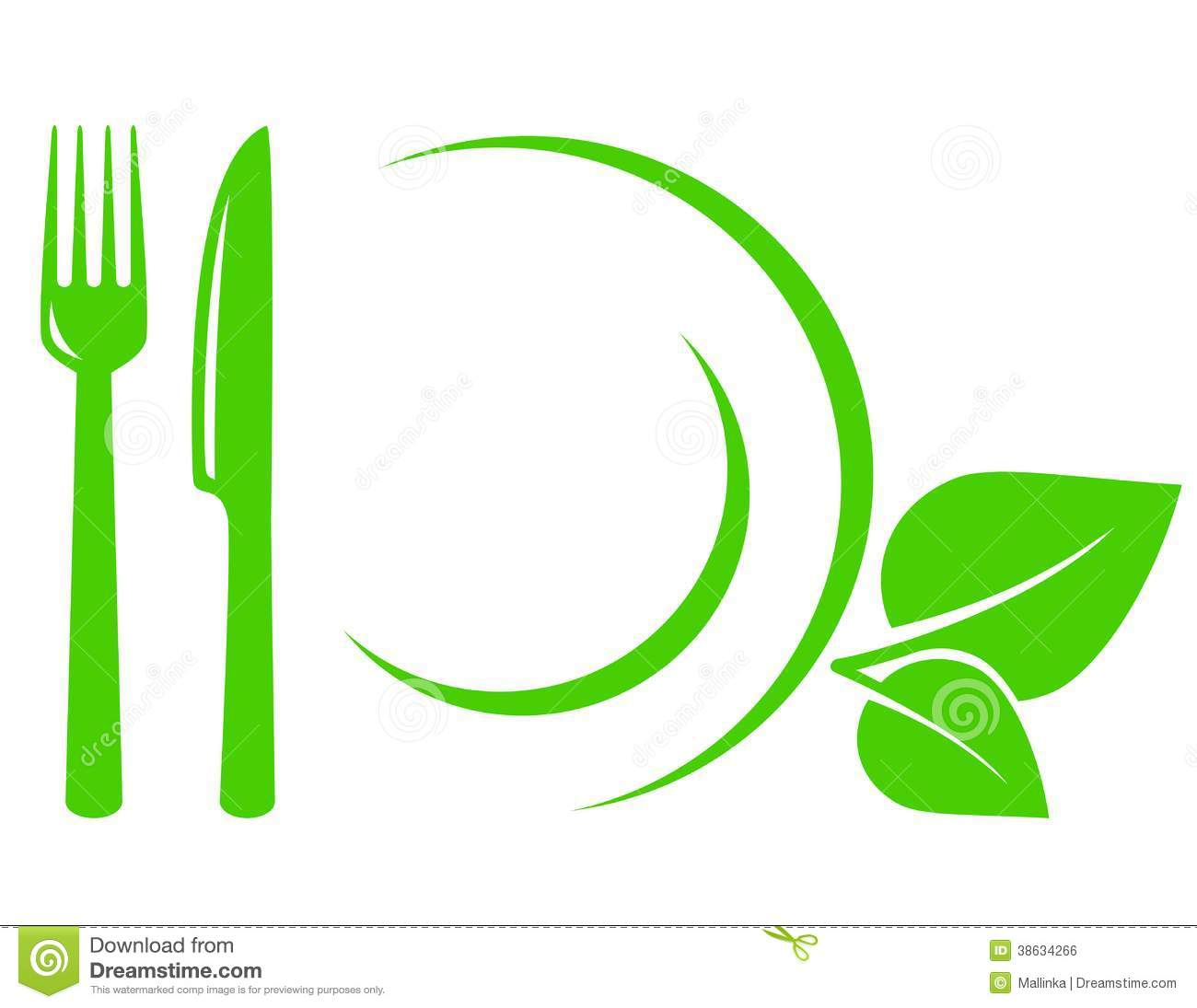 vegetarian icon with leaves  fork and knife royalty free clip art fork and spoon clip art fork truck