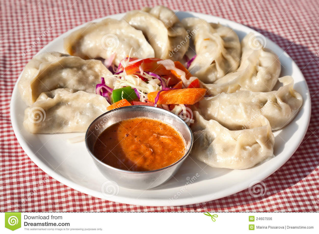 Vegetarian Nepalese Momo Royal...