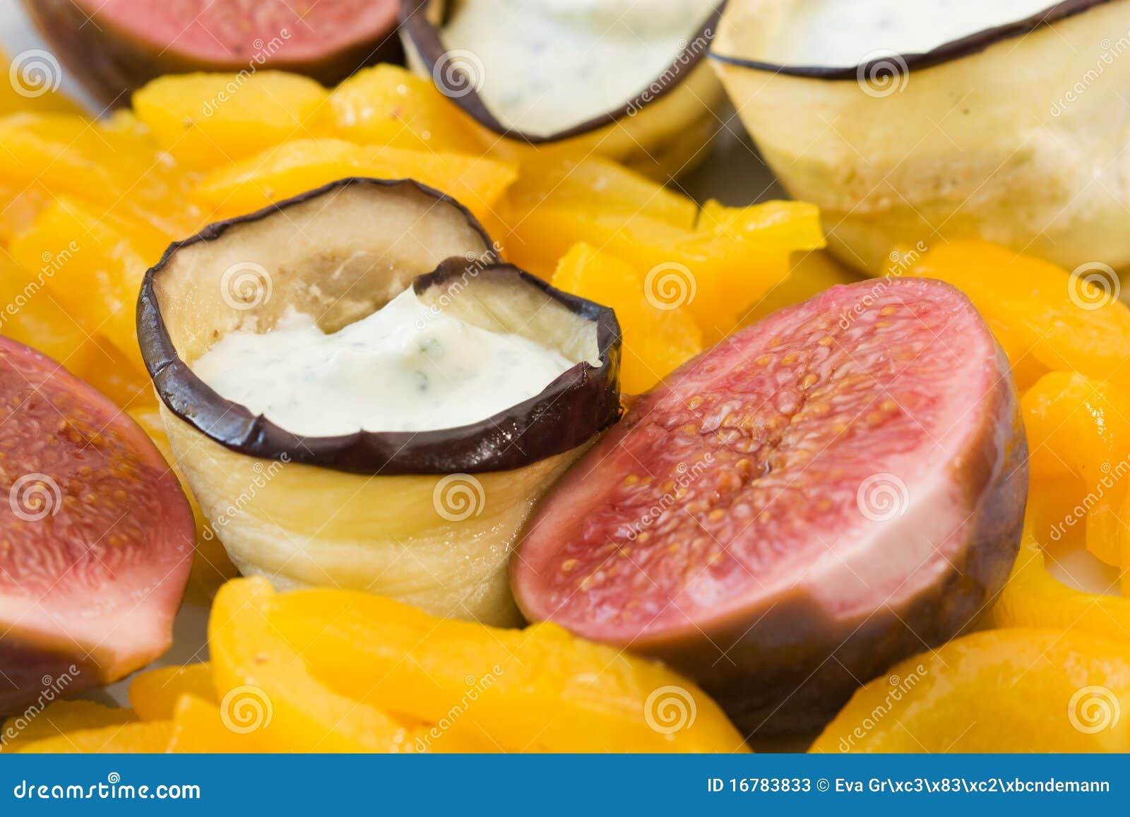 Vegetarische Fingerfood Stock Afbeelding Afbeelding Bestaande Uit