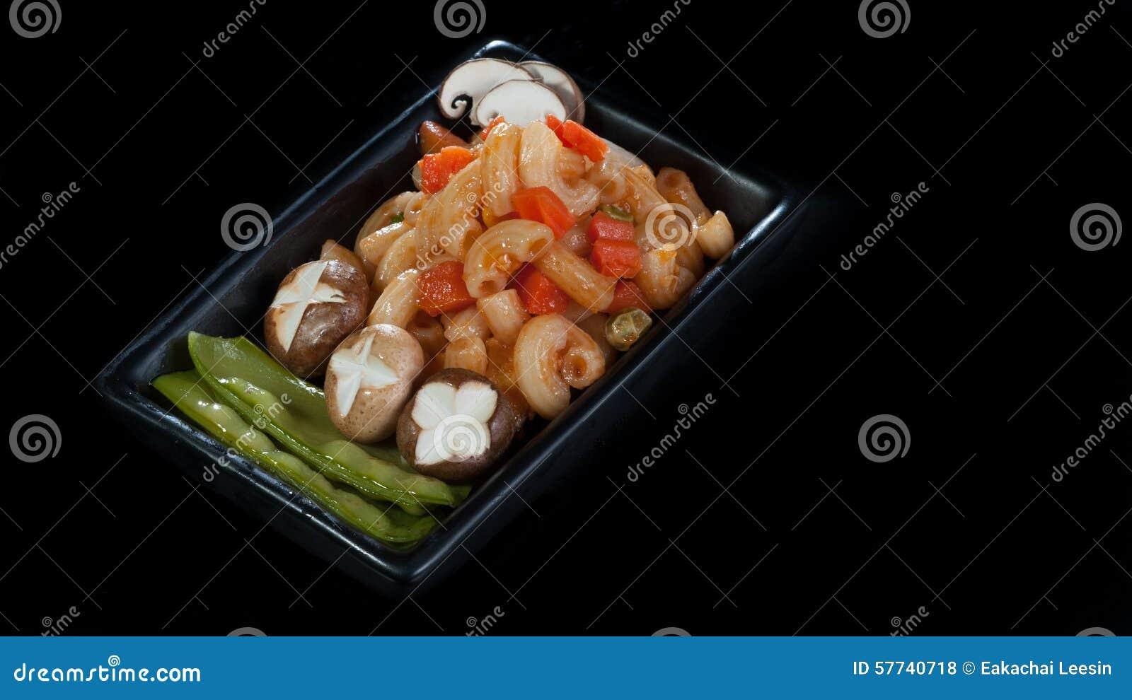 Vegetarische macaroni
