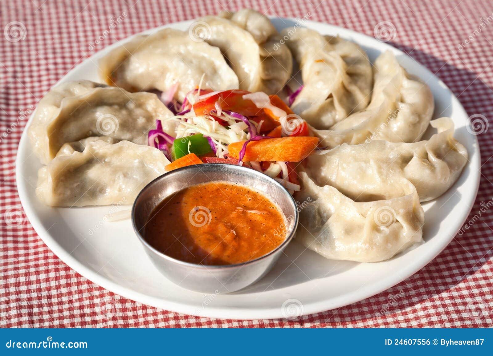 Vegetarische Nepalese momo