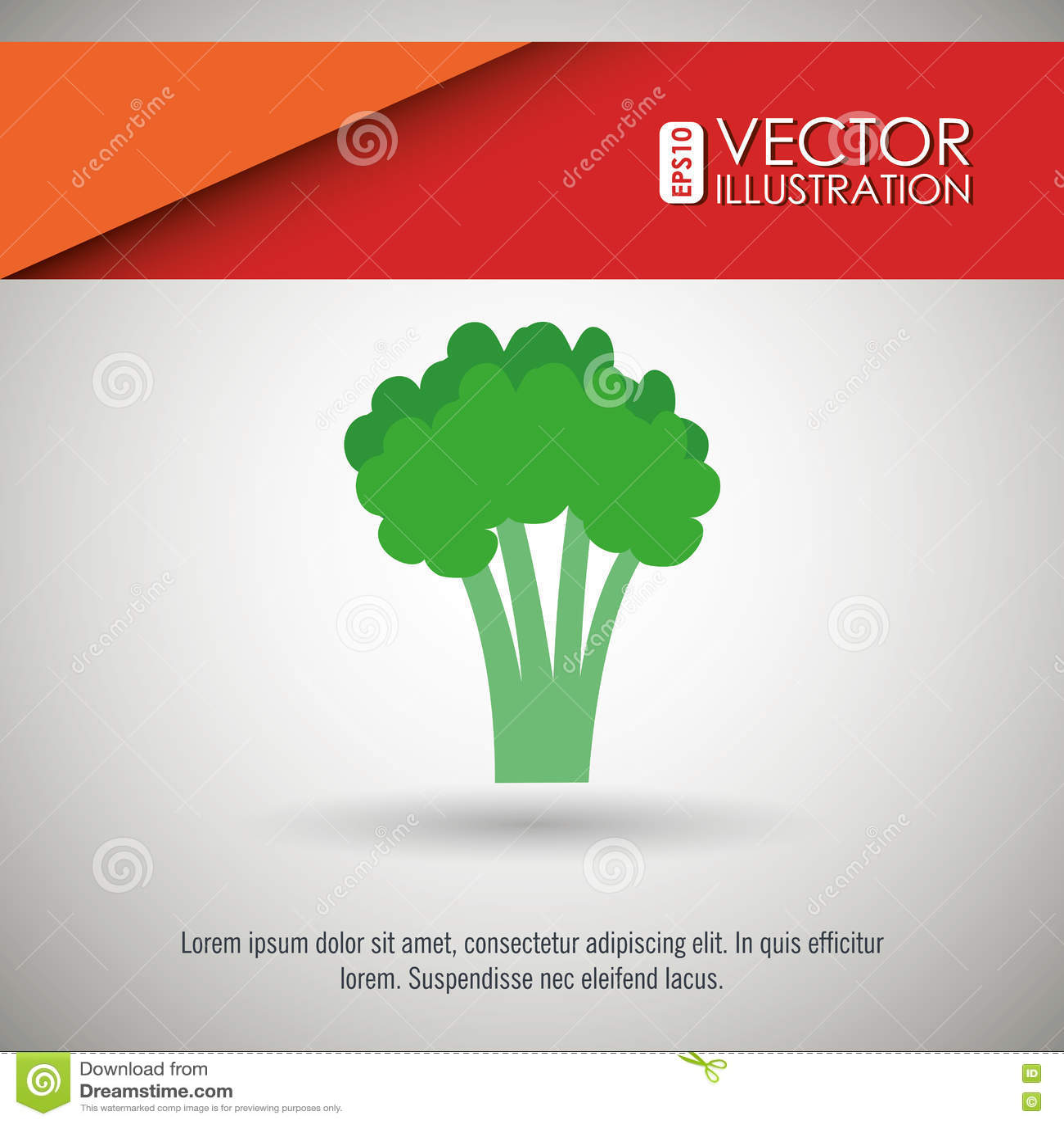 Vegetarisches Lebensmitteldesign