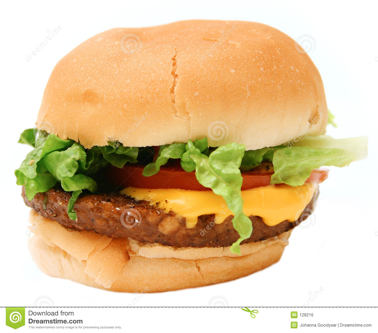 Veggie Burger Royalty Free Stock Image - Image: 128216