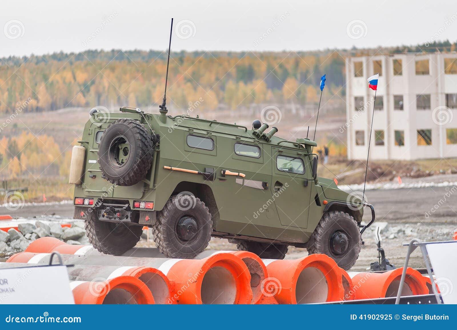 Vehículo blindado de VPK-233115 Tigr-M (Rusia)