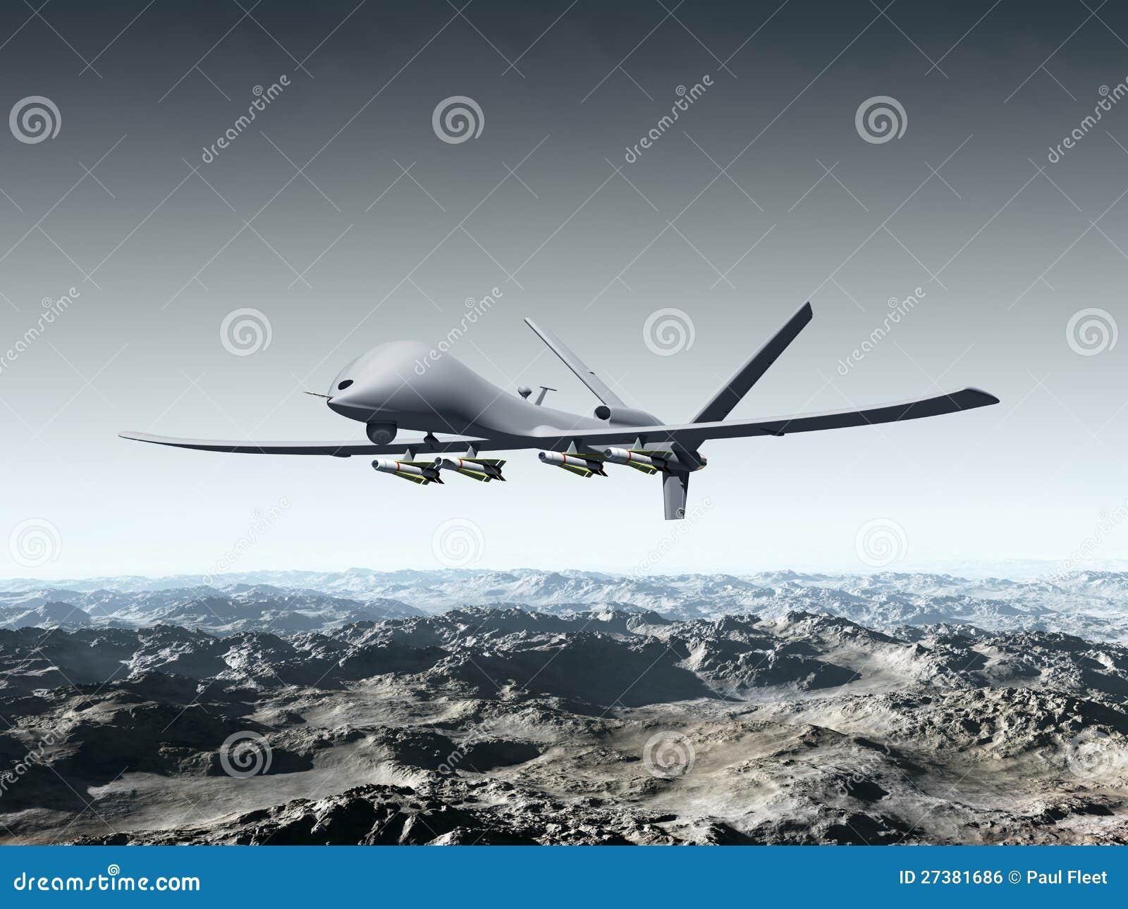 Vehículo de aire sin tripulación del combate