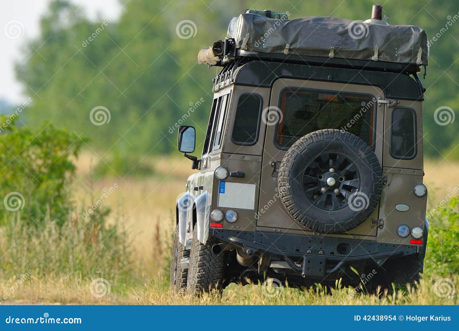 Vehículo de la expedición