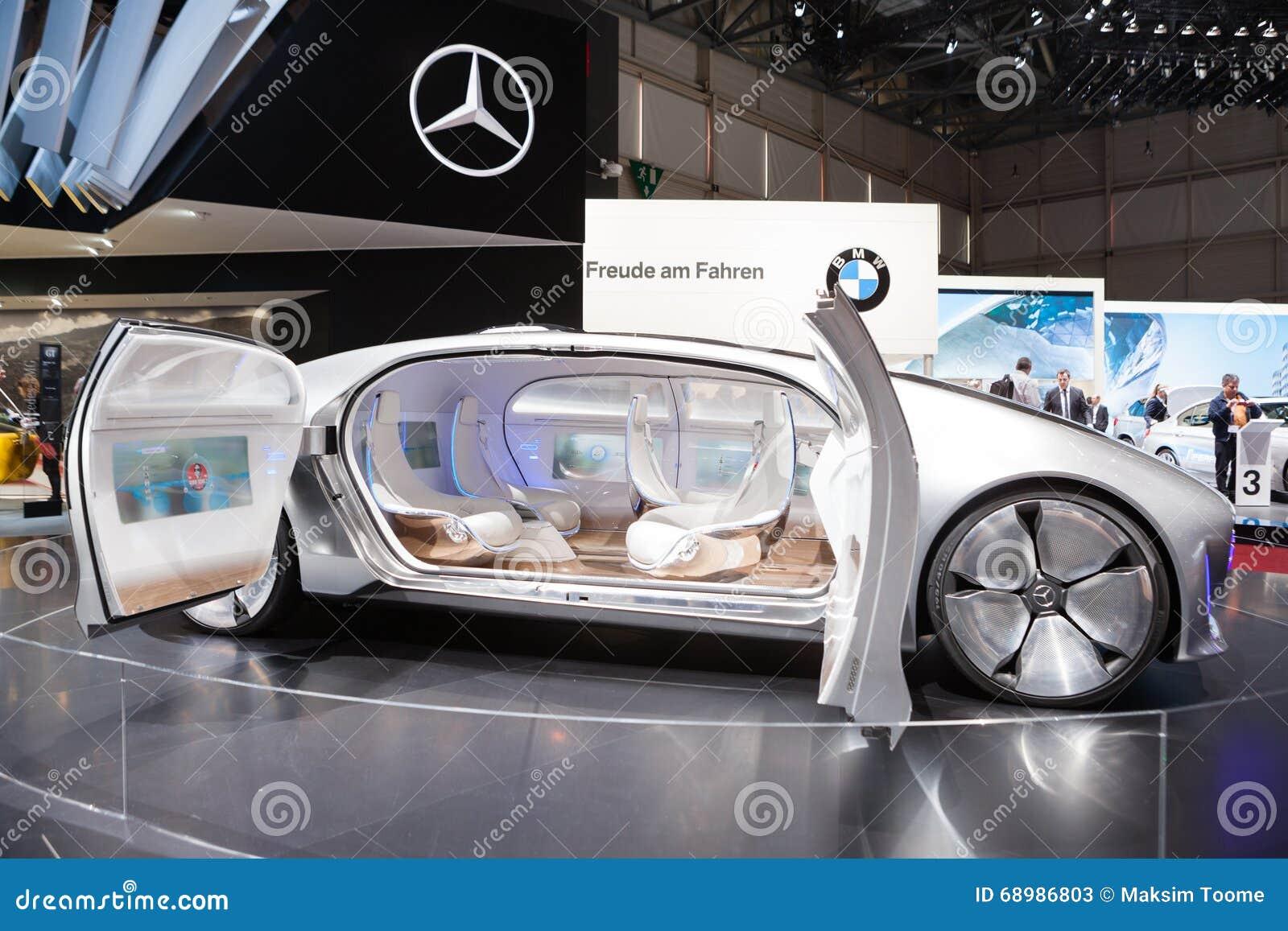 Vehículo del concepto de Mercedes-Benz F 015