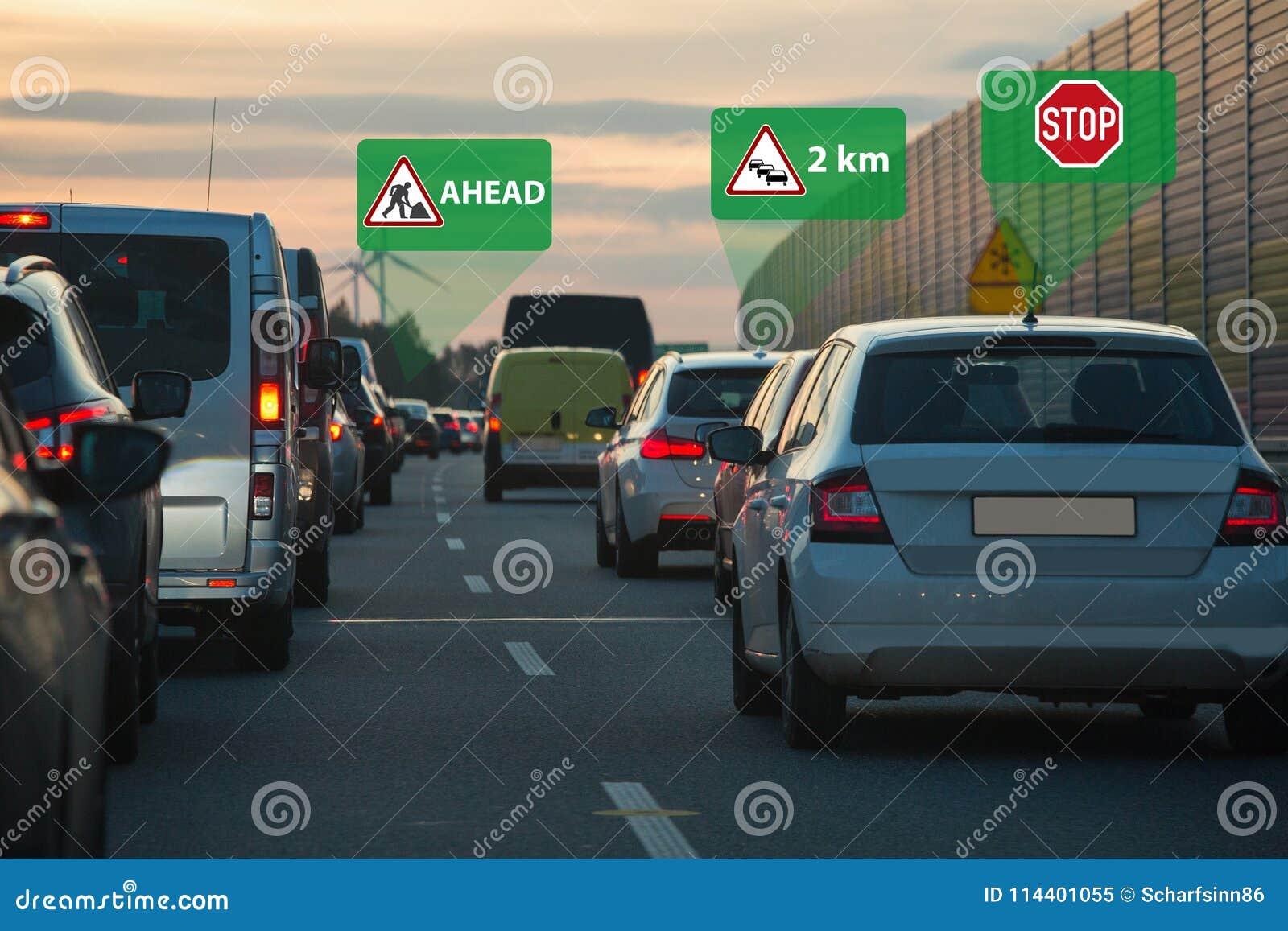 Vehículo a la comunicación del vehículo