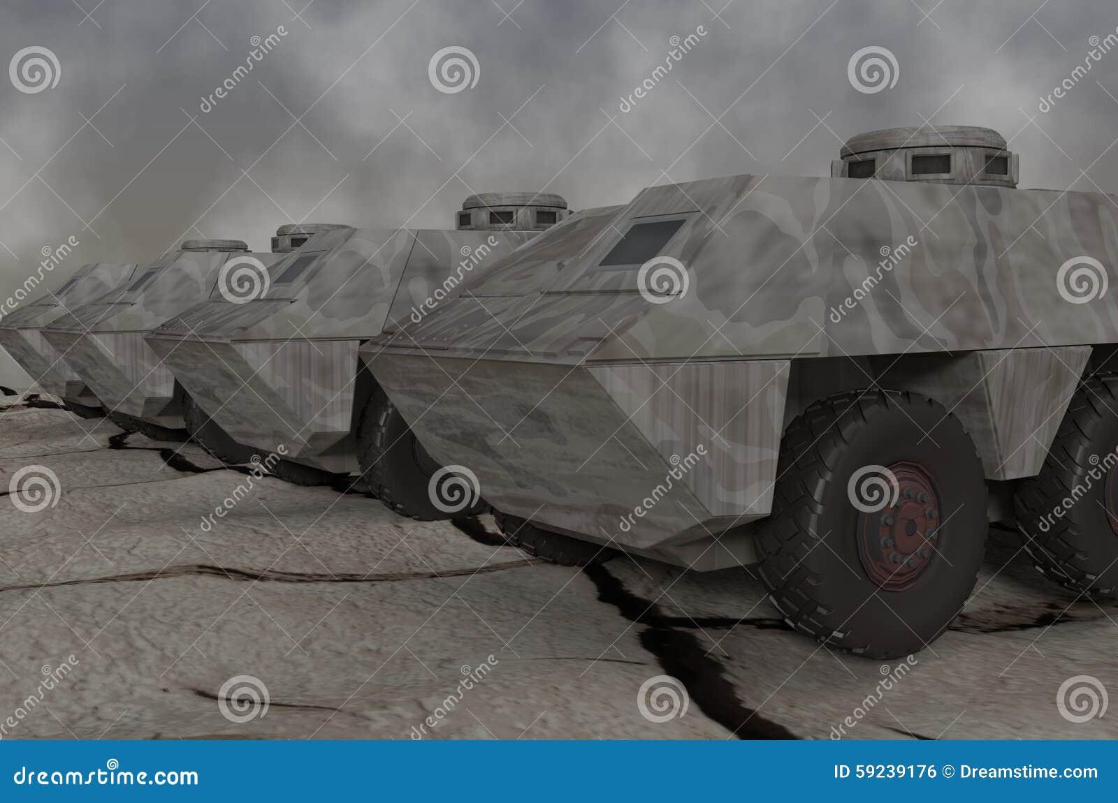 Download Vehículos de ejército stock de ilustración. Ilustración de awaiting - 59239176
