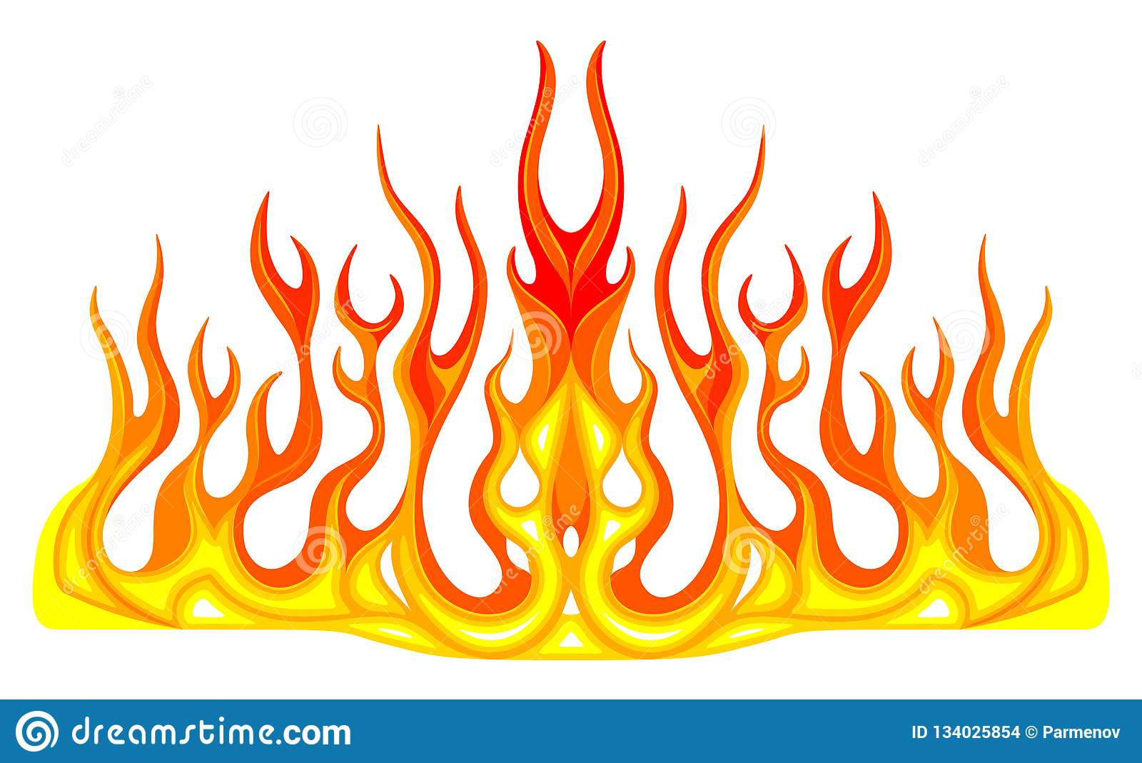 Vehicle Graphics Stripe Hot Rod Racing Flame Graffiti Car Decal Vinyl Ready On The Hood Of A Car Stock Vector Illustration Of Flame Graphics 134025854