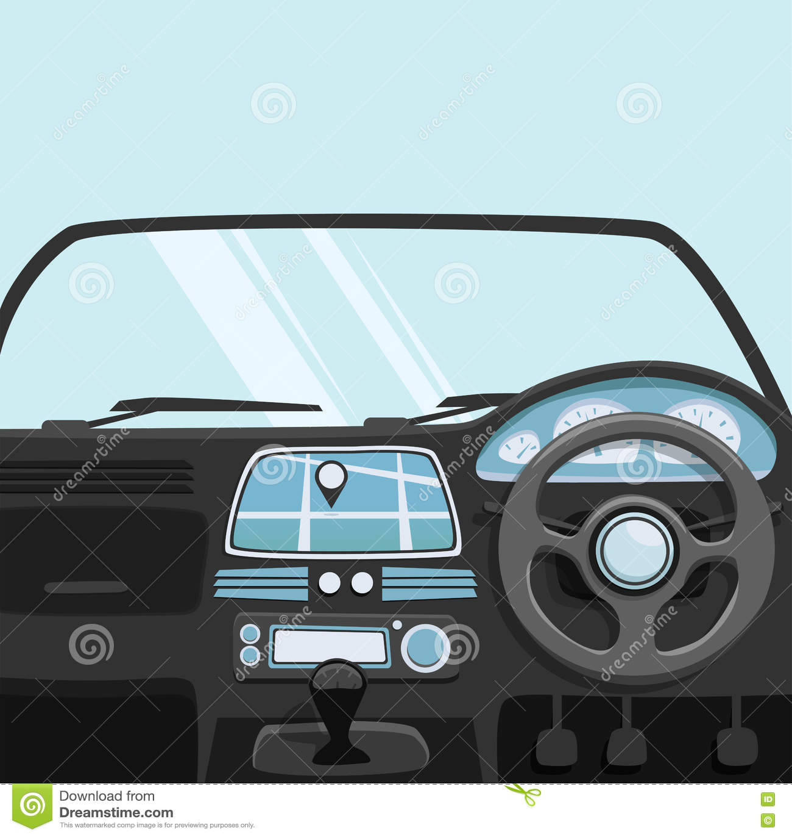 hatchback car cartoon illustration cartoon vector 79865853