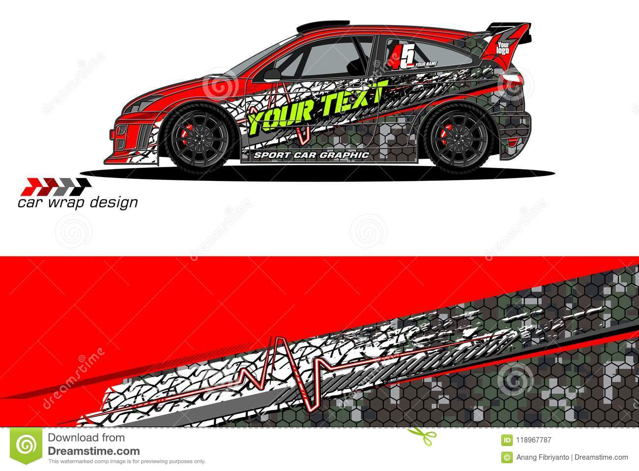 fce54a65dc Vehicle livery graphic vector. abstract grunge background design for vehicle  vinyl wrap and car branding