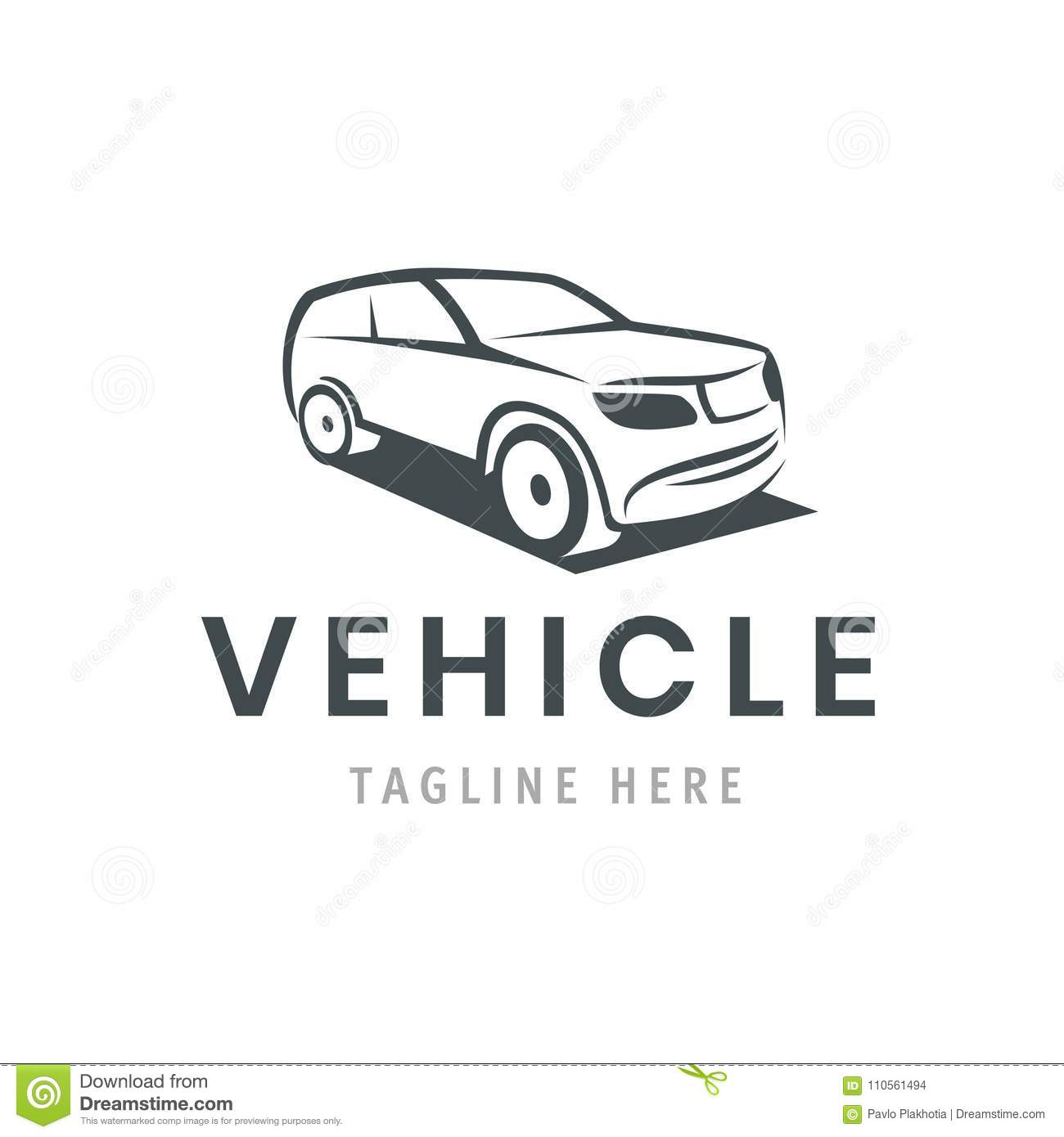 Vehicle Logo Template Car Icon For Business Design Rent Repair
