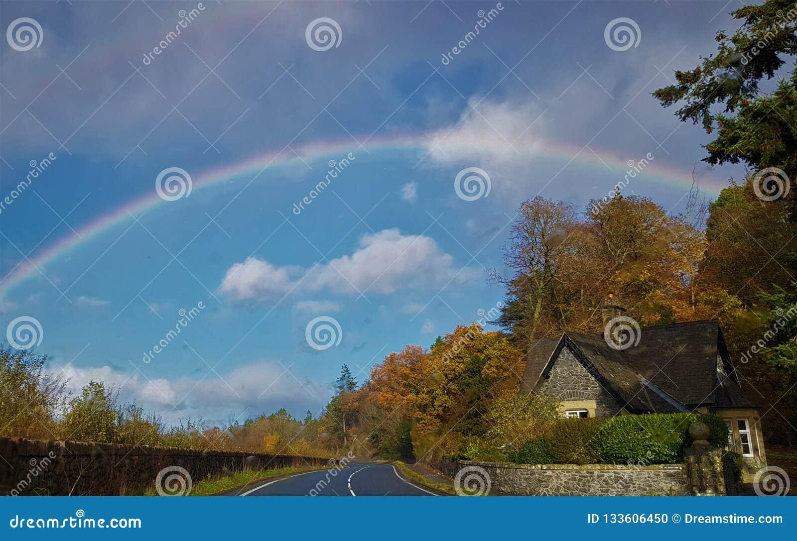 Veja o arco-íris