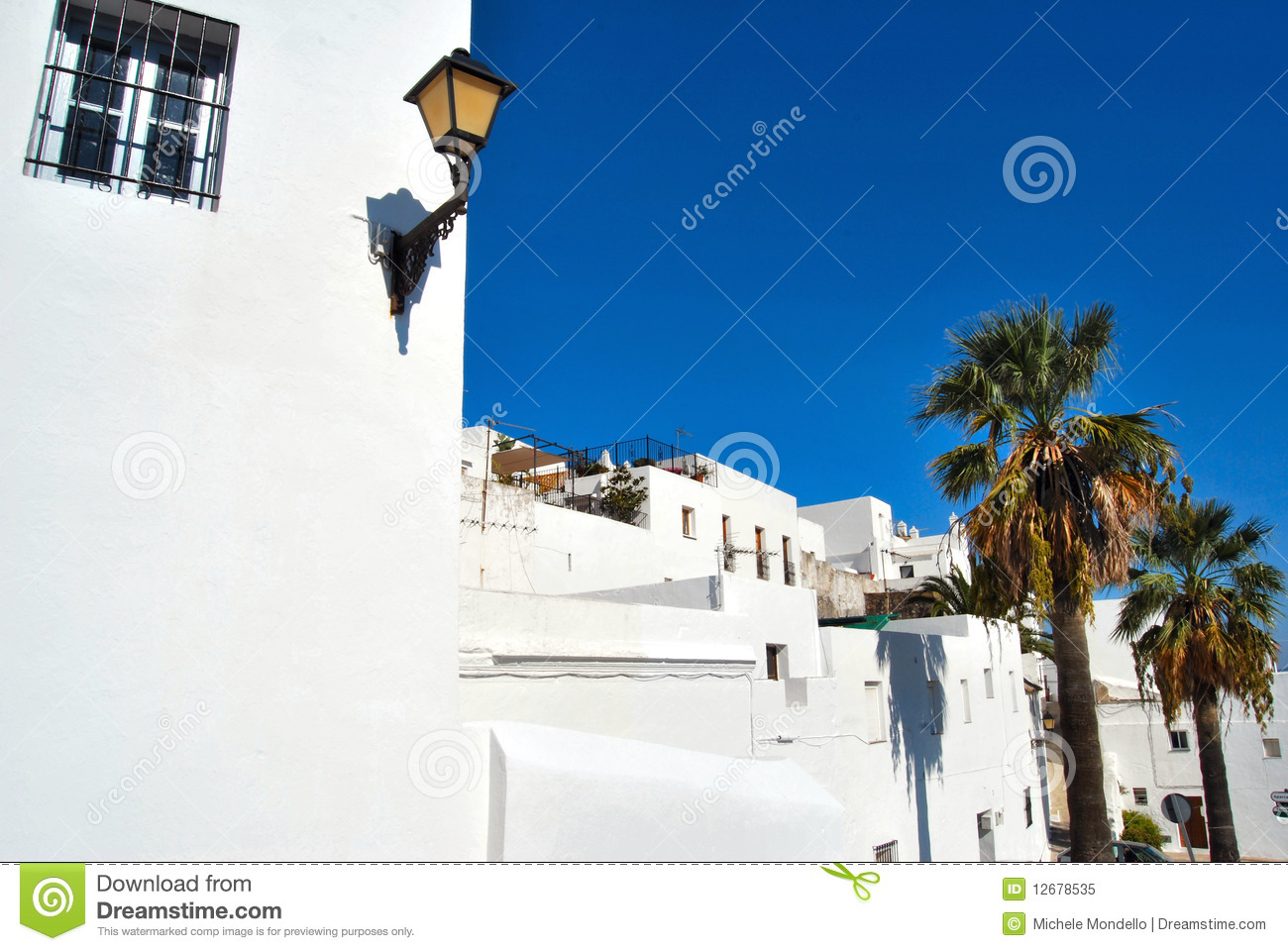 Vejer de la Frontera Spain  city photos : Vejer De La Frontera, Spain Royalty Free Stock Photo Image: 12678535