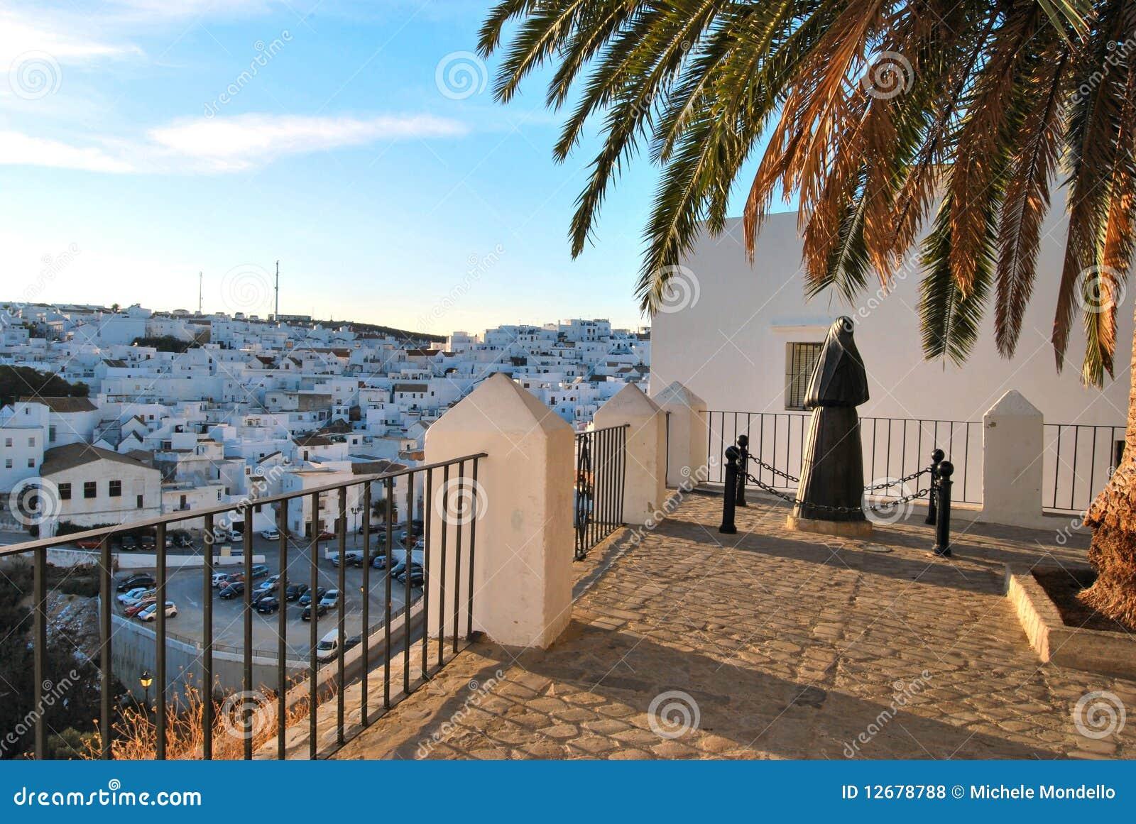 Vejer De La Frontera, Spain Royalty Free Stock Photos - Image: 12678788