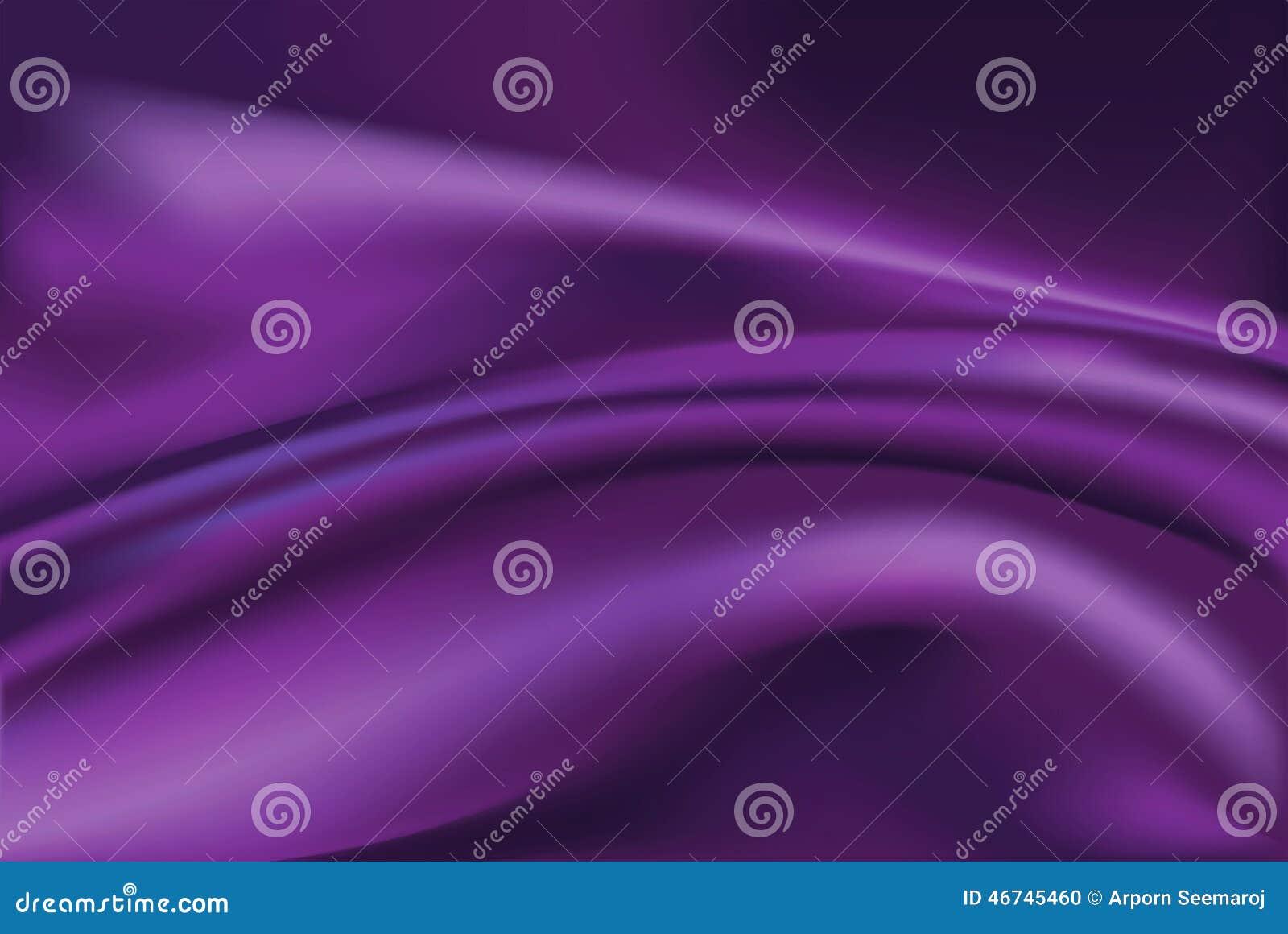 Vektor av violett bakgrund för siden- tyg