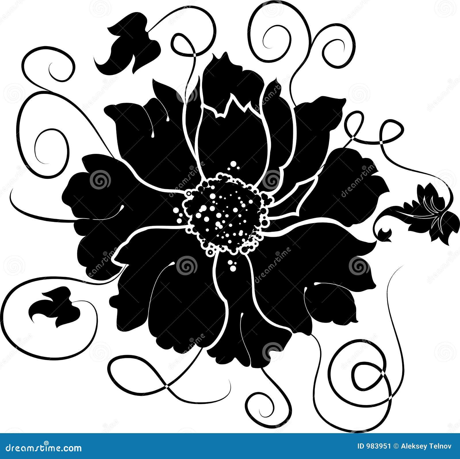 Download Vektor För Designelementblomma Vektor Illustrationer - Illustration av inbjudan, organiskt: 983951