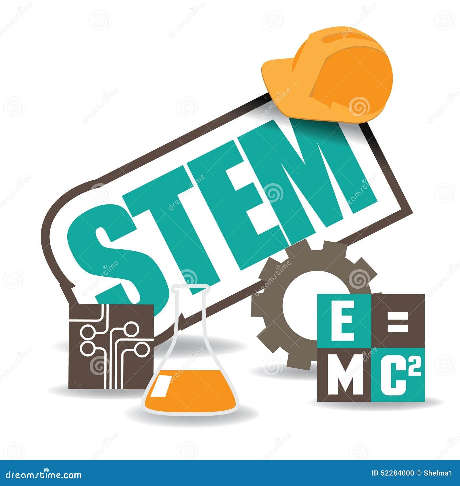 Vektor för EPS 10 för design för STAMsymbolslägenhet