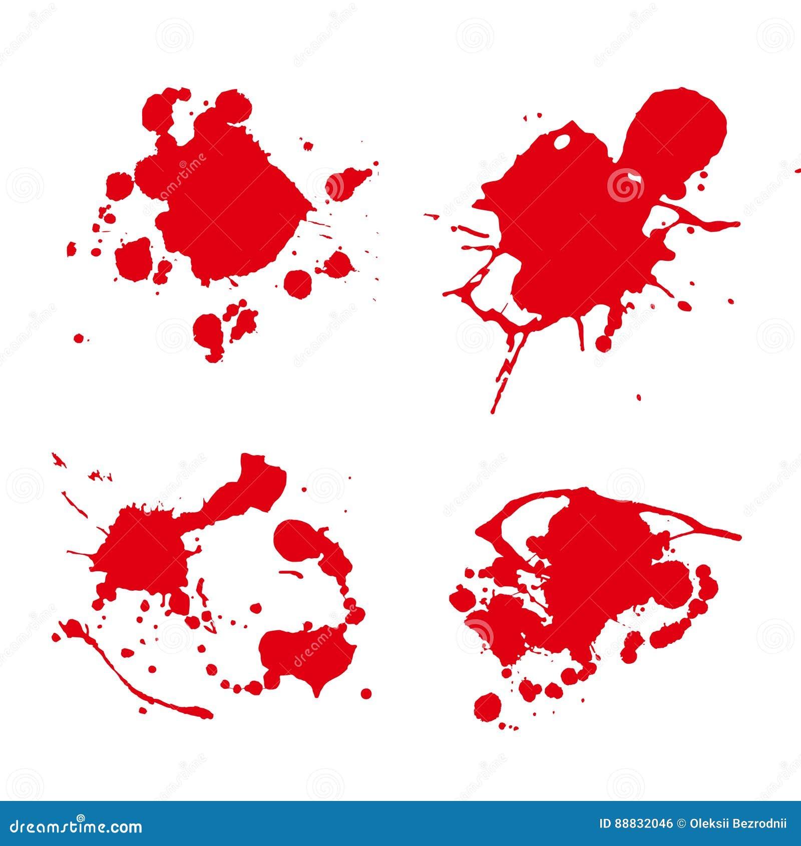Vektor för färgstänkmålarfärgfläck