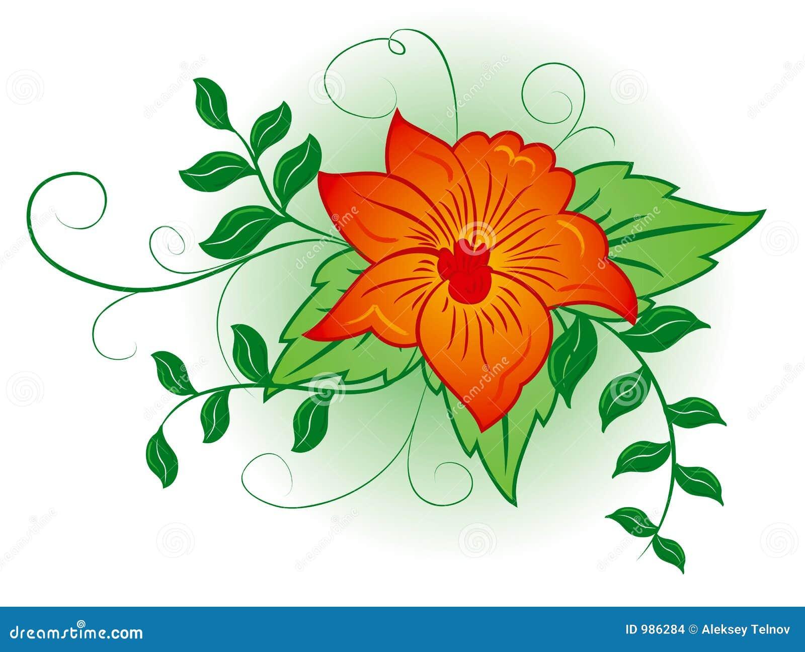 Vektor för illustration för blomma för bakgrundsdesignelement