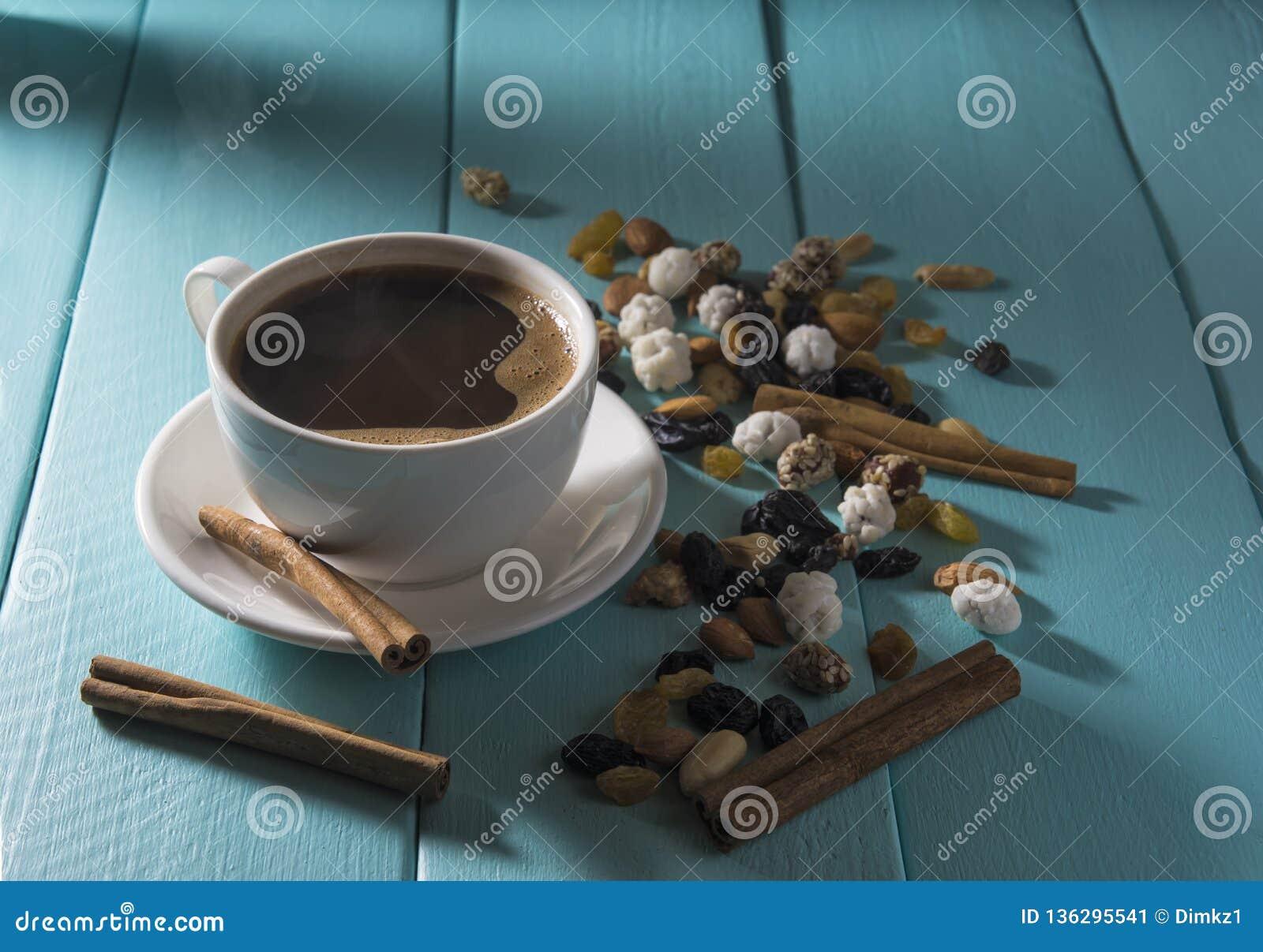 Vektor för illustration för kaffekopp rökande