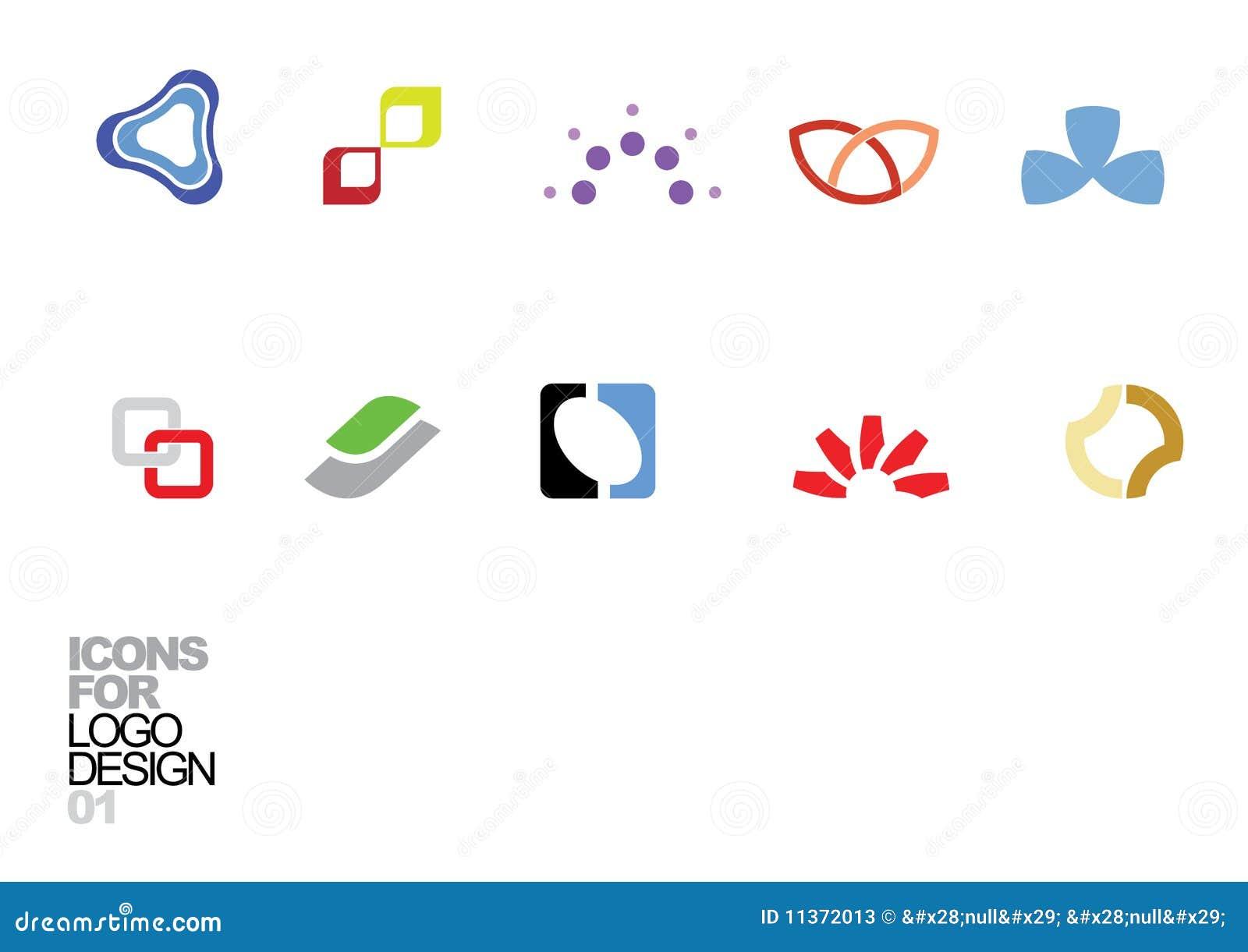 Vektor för logo för 01 designelement