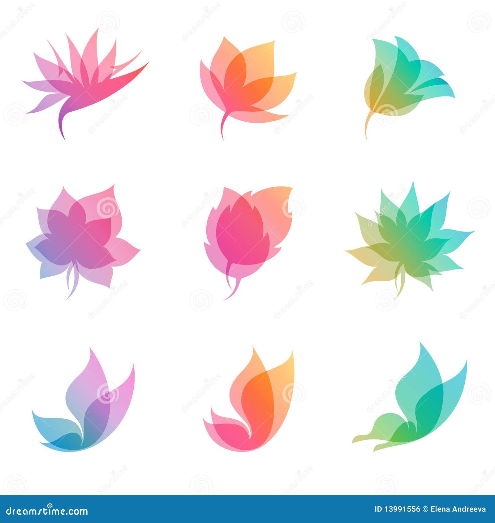 Vektor för pastell för designelementnatur