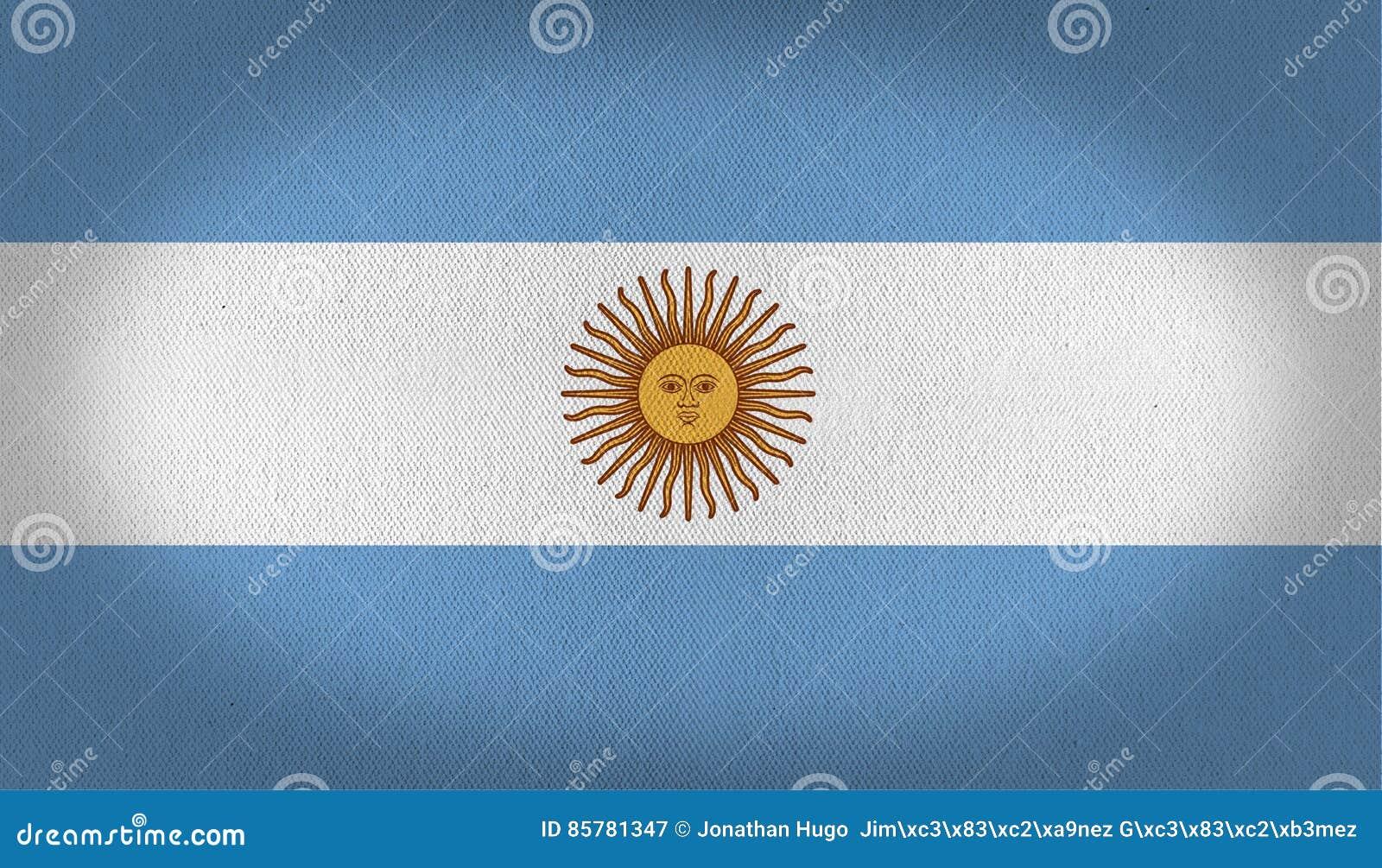 Vektor för stil argentina för tillgänglig flagga glass