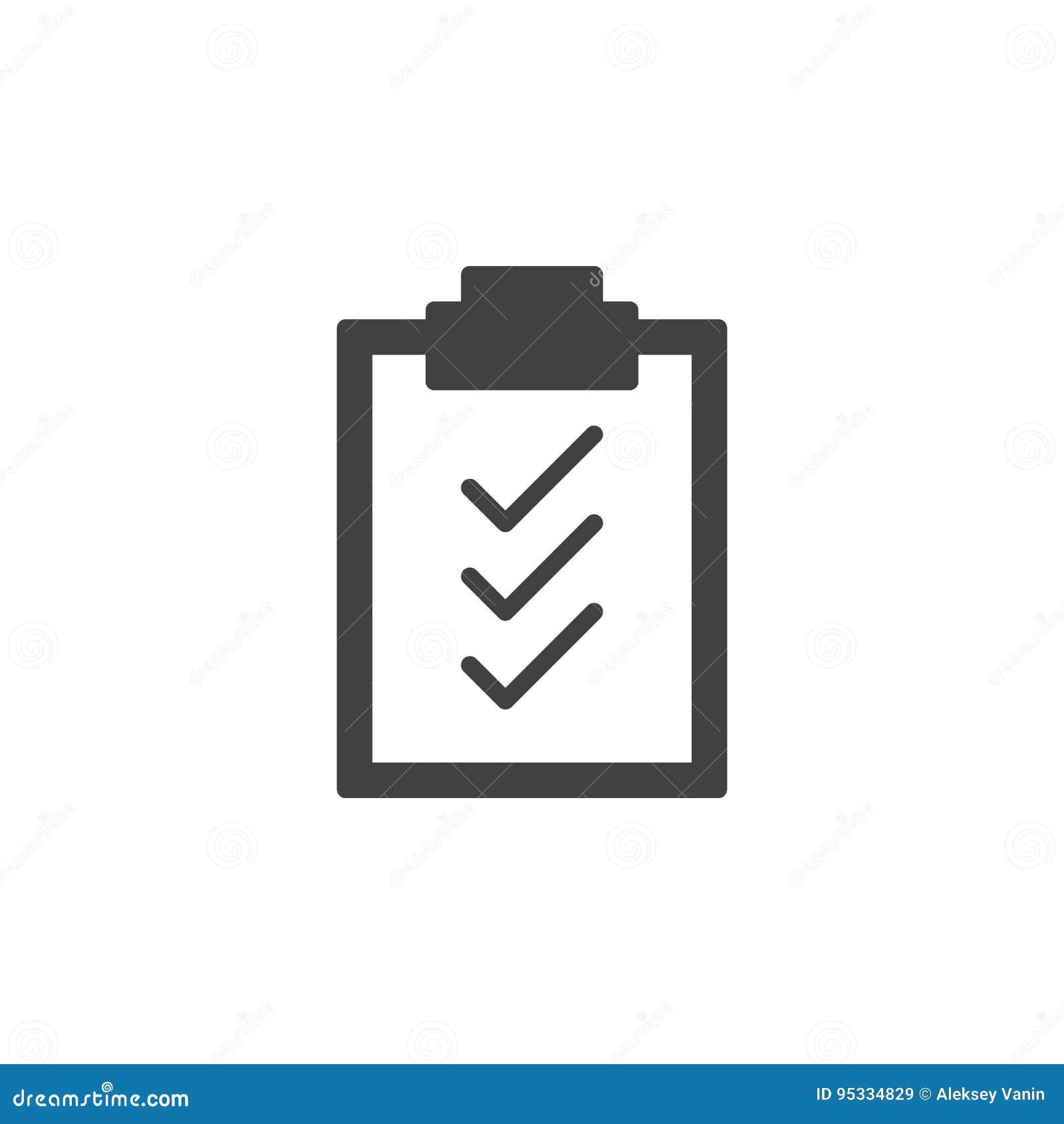 Vektor för symbol för skrivplattakontrollfläckar, fyllt plant tecken, fast pictogram som isoleras på vit