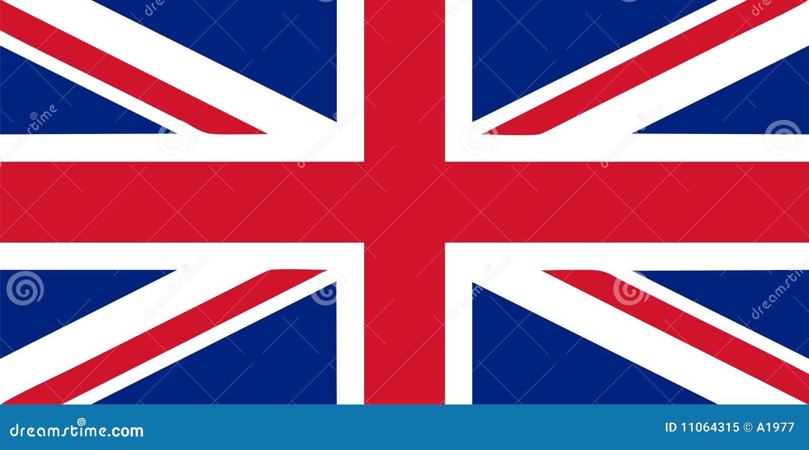Vektor för union för uk för flaggaillustrationstålar