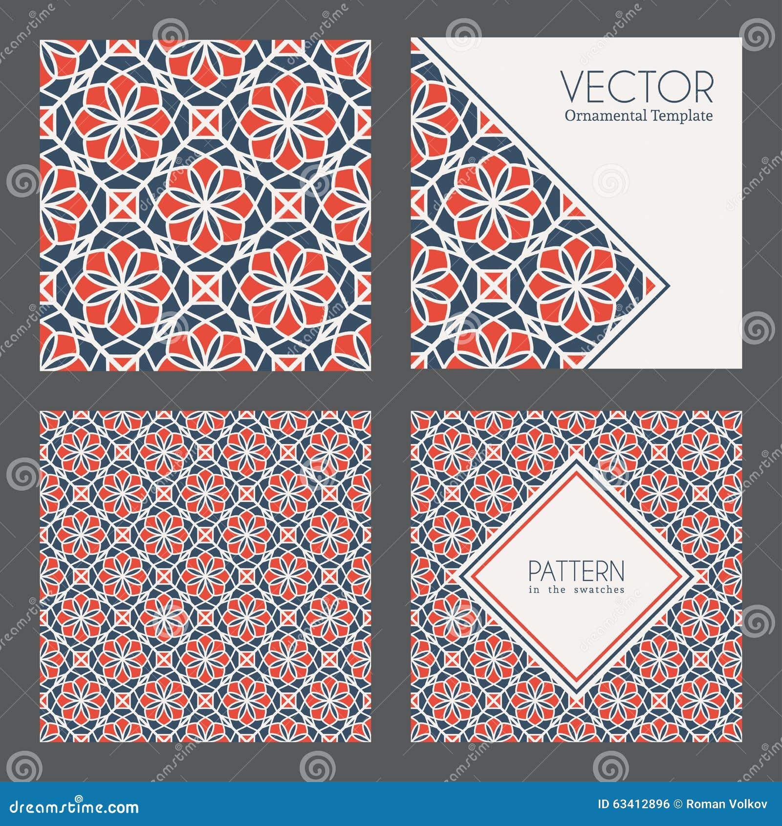 vektor geometrische muster vektor abbildung illustration von chinesisch 63412896. Black Bedroom Furniture Sets. Home Design Ideas