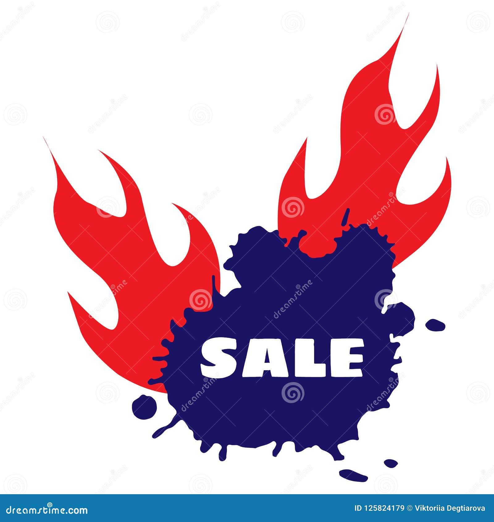 Vektor Heißes Verkaufs-Rabatt-Vektor-Schablonen-Design