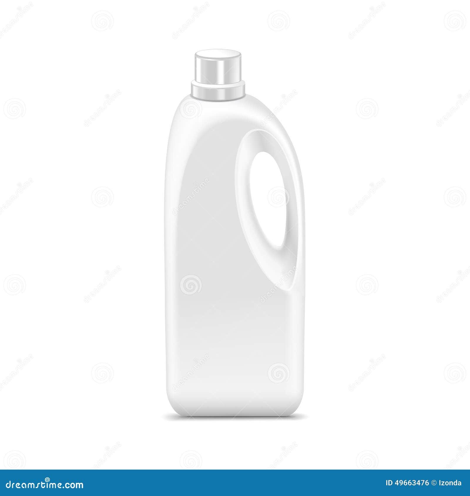 Vektor-leere Plastikbenzinkanister-Kanister-Gallone