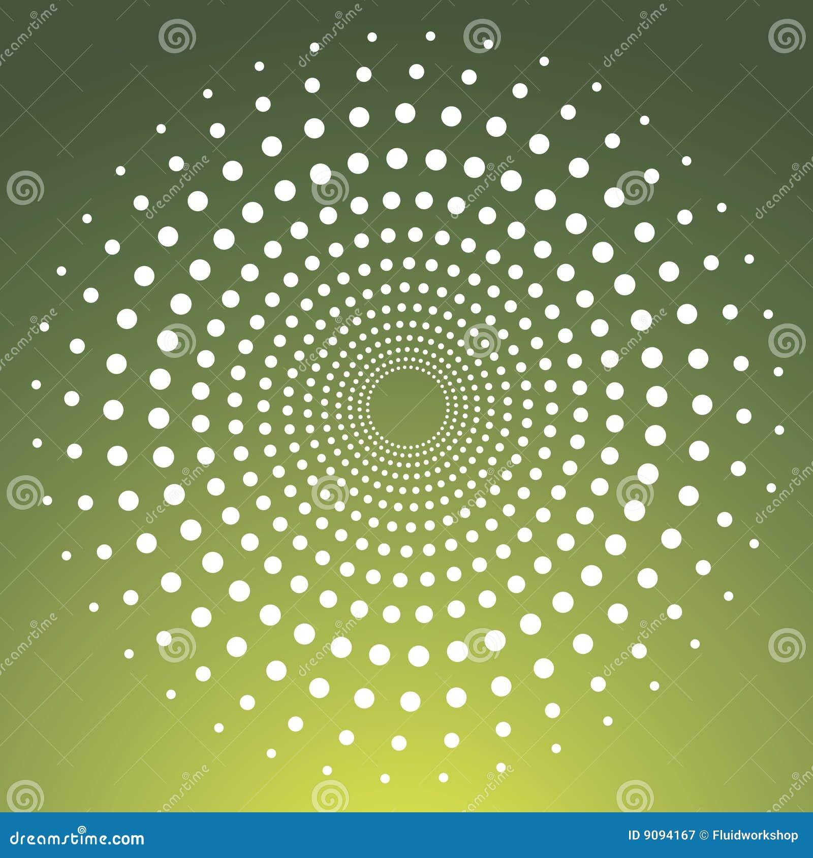 Vektor punktierter Kreis