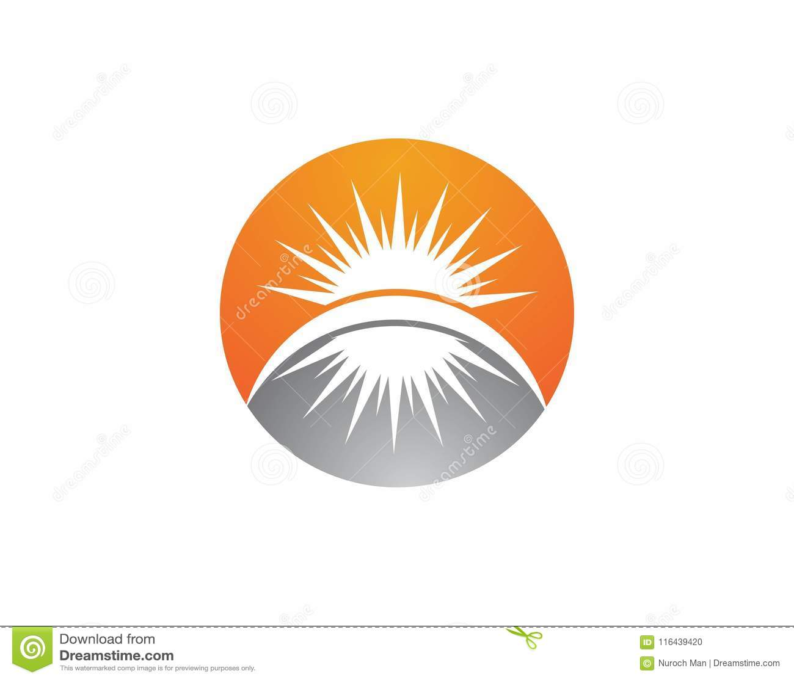 Vektor - Sun-Explosionssternikone