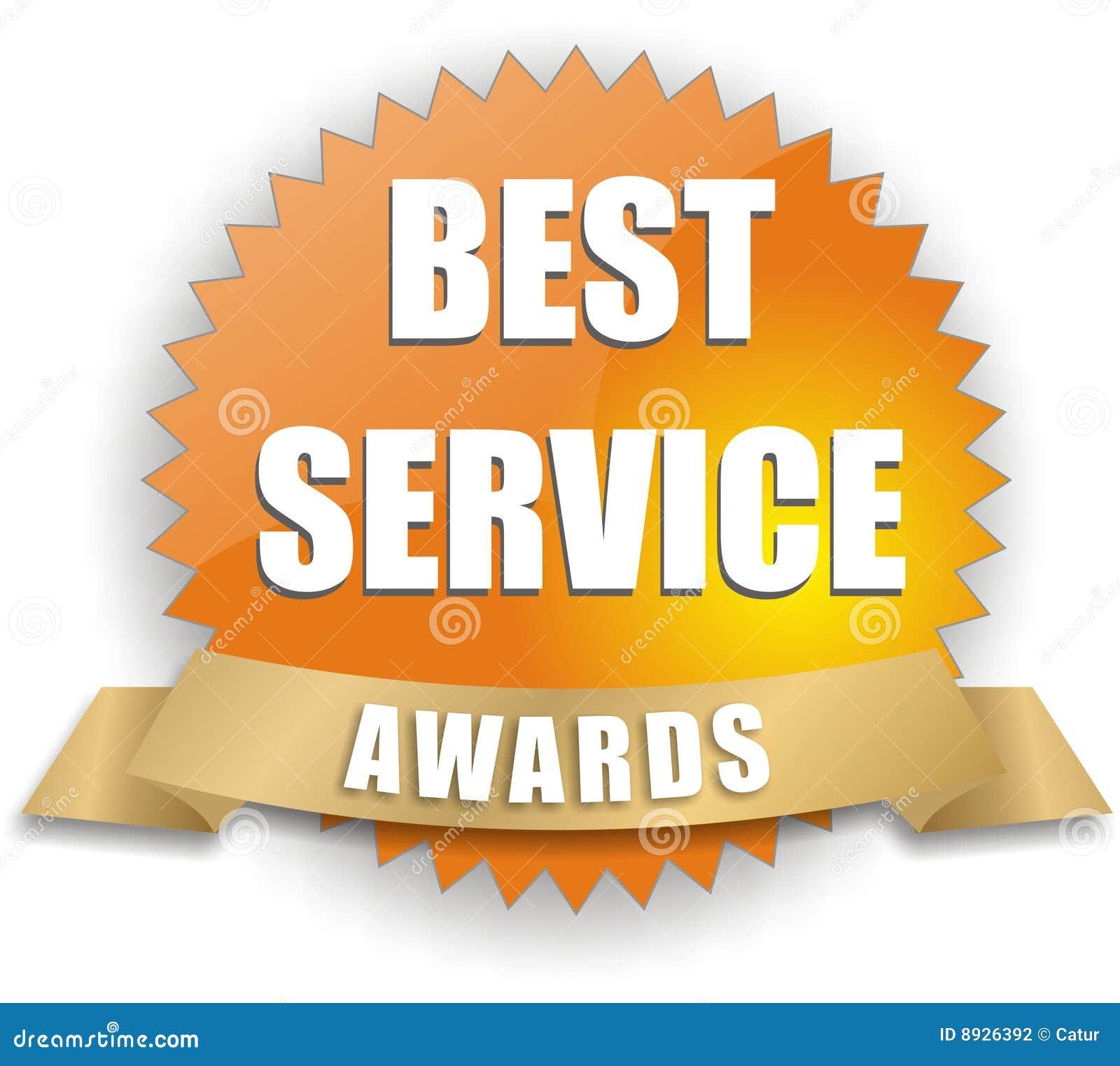 Vektorbester Service-Preis