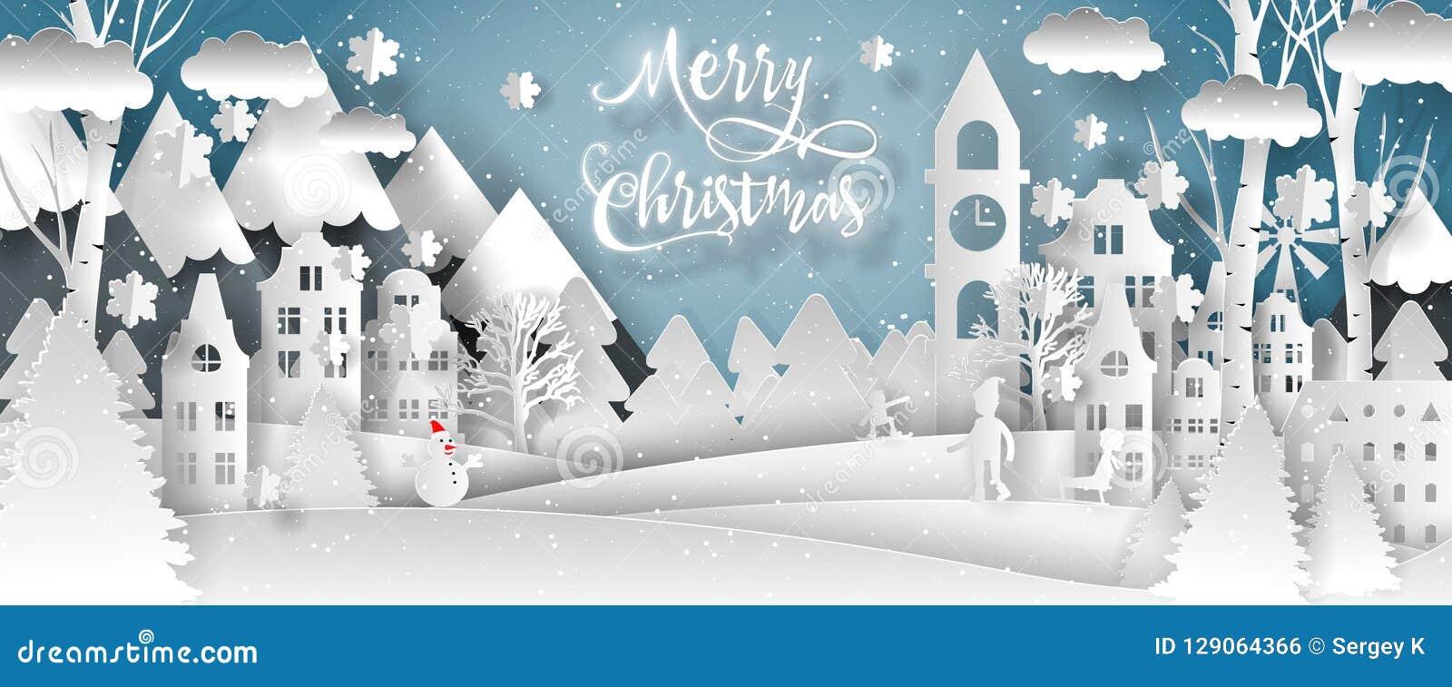 Vektordesign för glad jul Lyckligt nytt år 2019 och glad jul