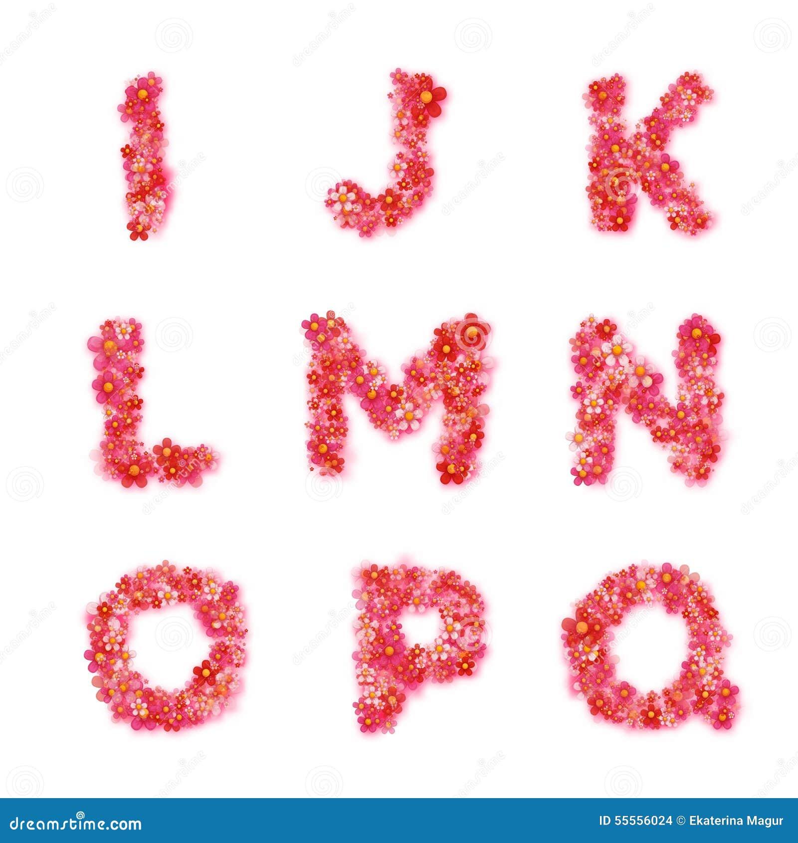 Blumen Alphabetisch