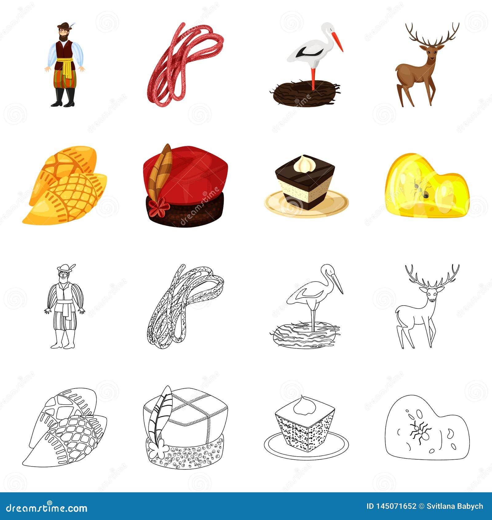 Vektorentwurf des traditionellem und Ausflugsymbols Stellen Sie vom traditionellem und Marksteinaktiensymbol f?r Netz ein
