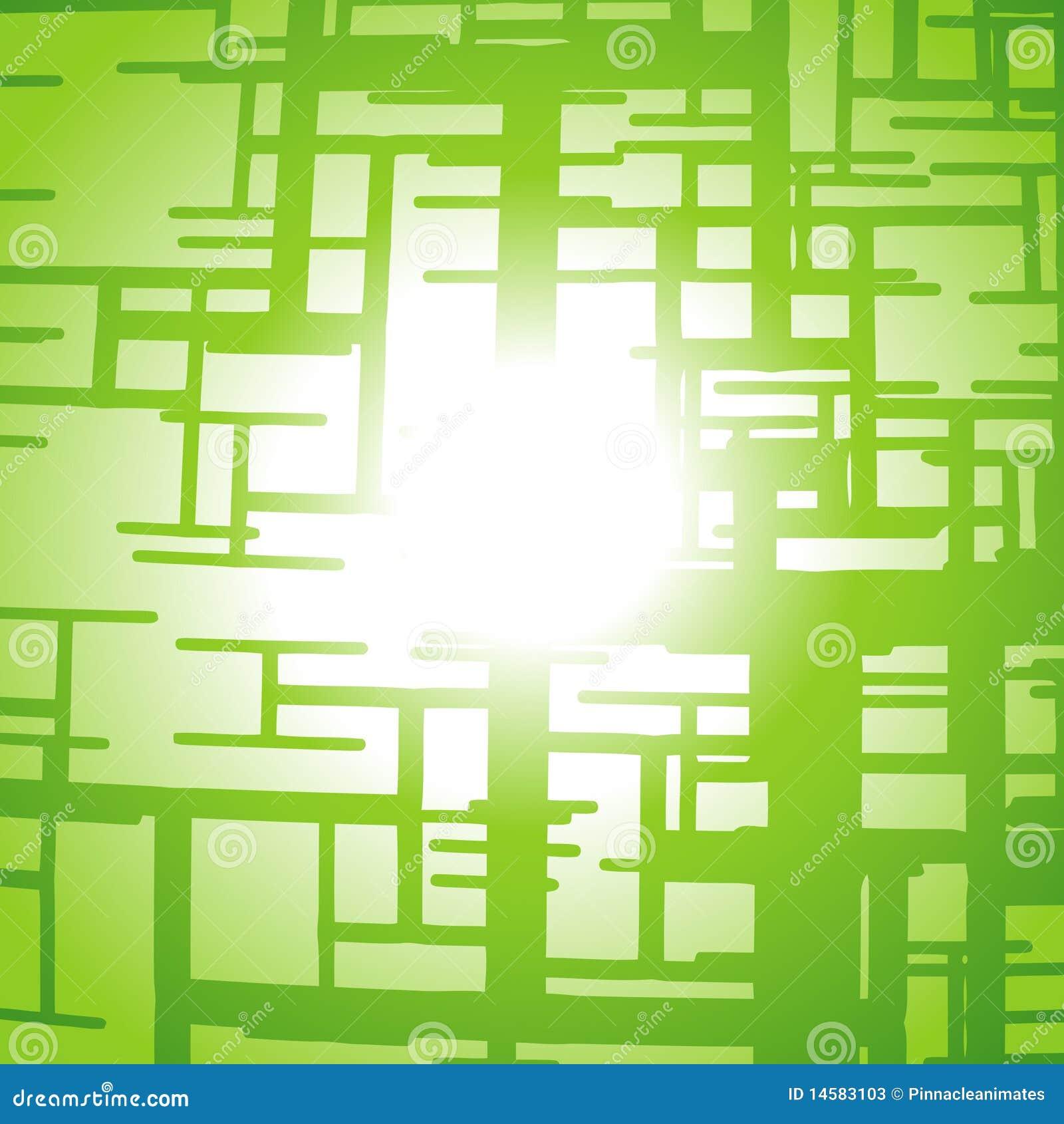 Vektorgrüne Zeilen